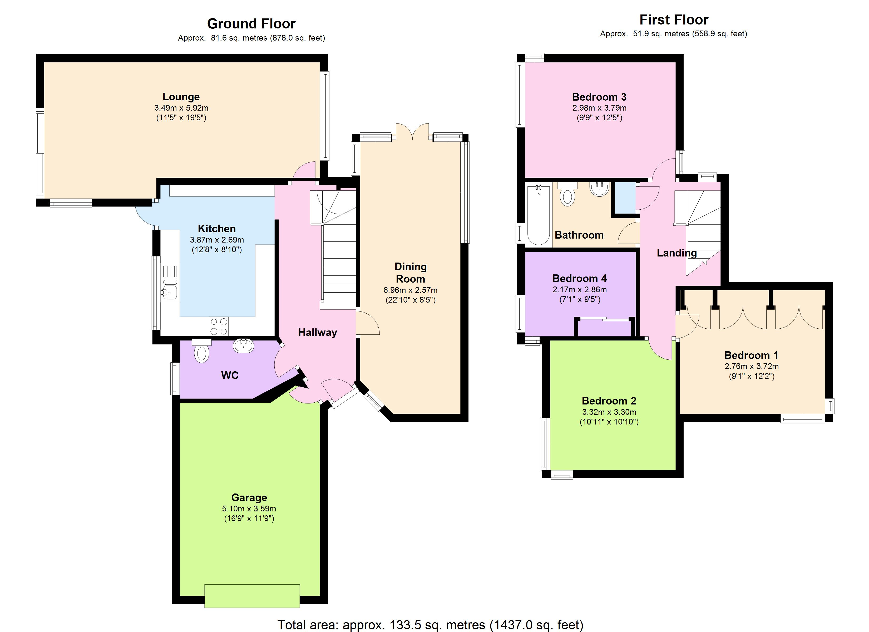 Amersham Avenue, Basildon, SS16 floor plan