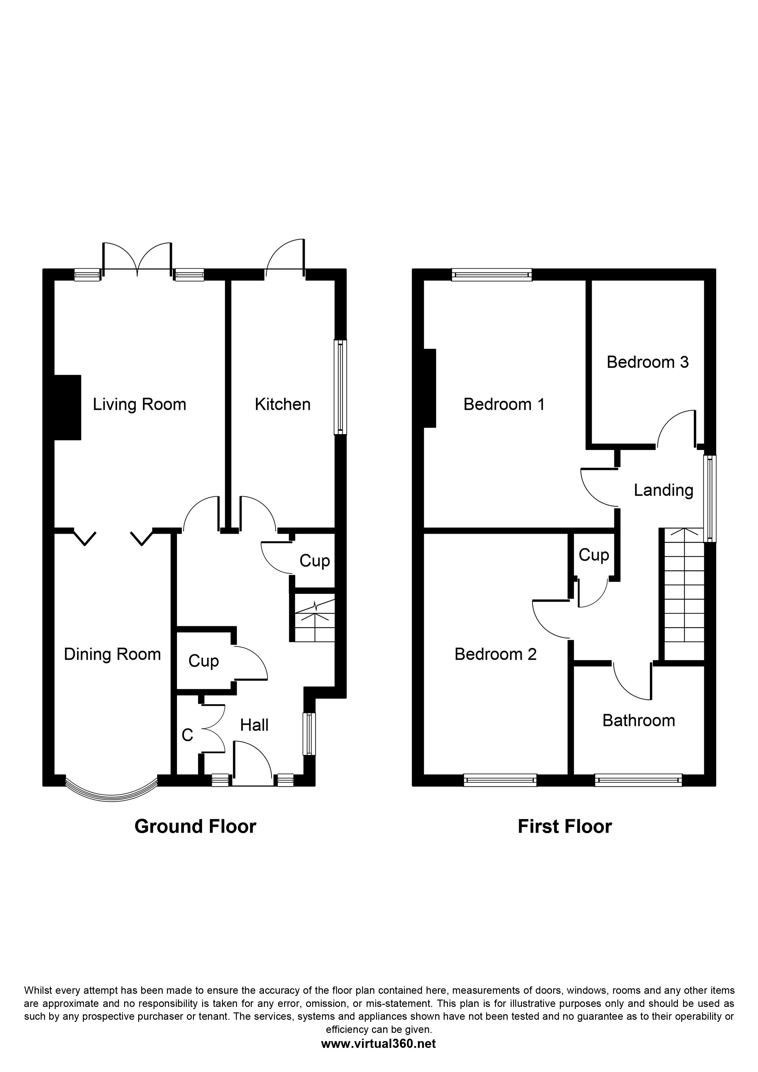 Chimes Close, Birmingham floor plan