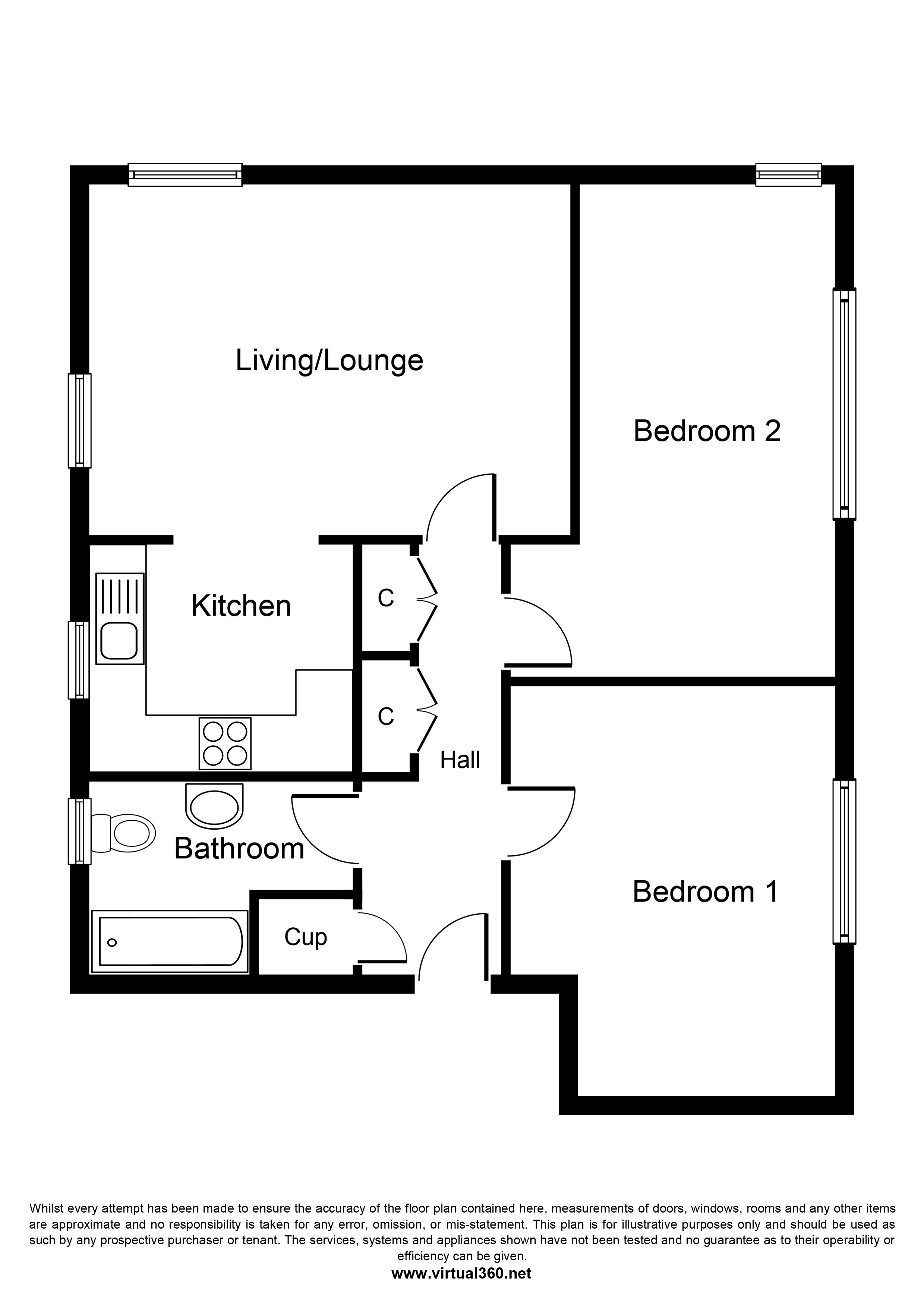 Summerwood Road, Isleworth floor plan
