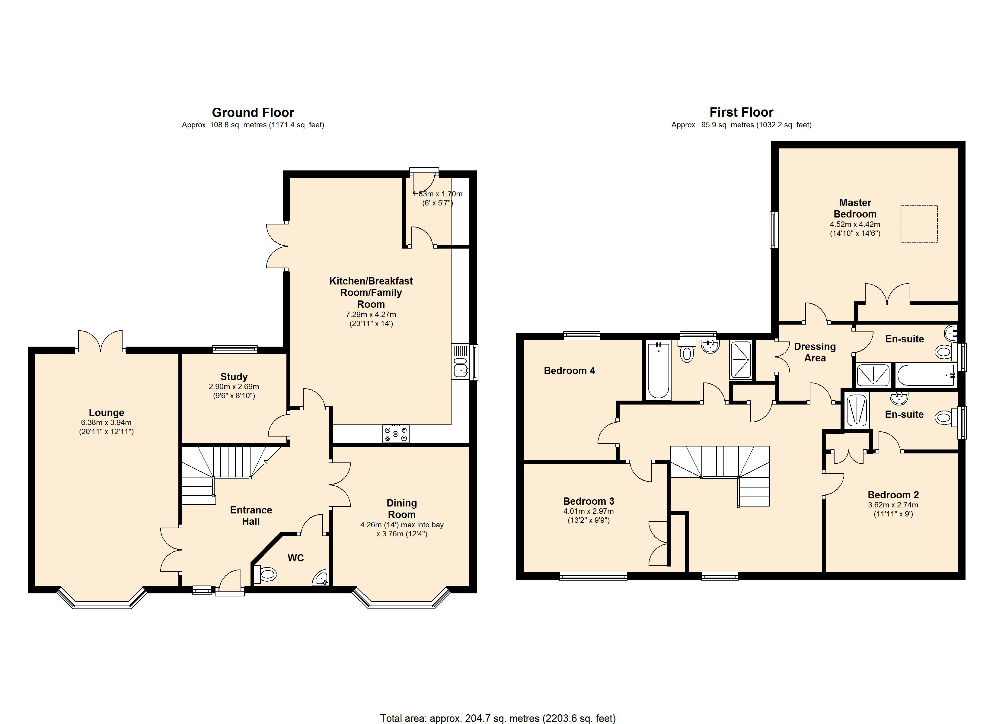 Long Hassocks, Rugby, Warwickshire, CV23 floor plan