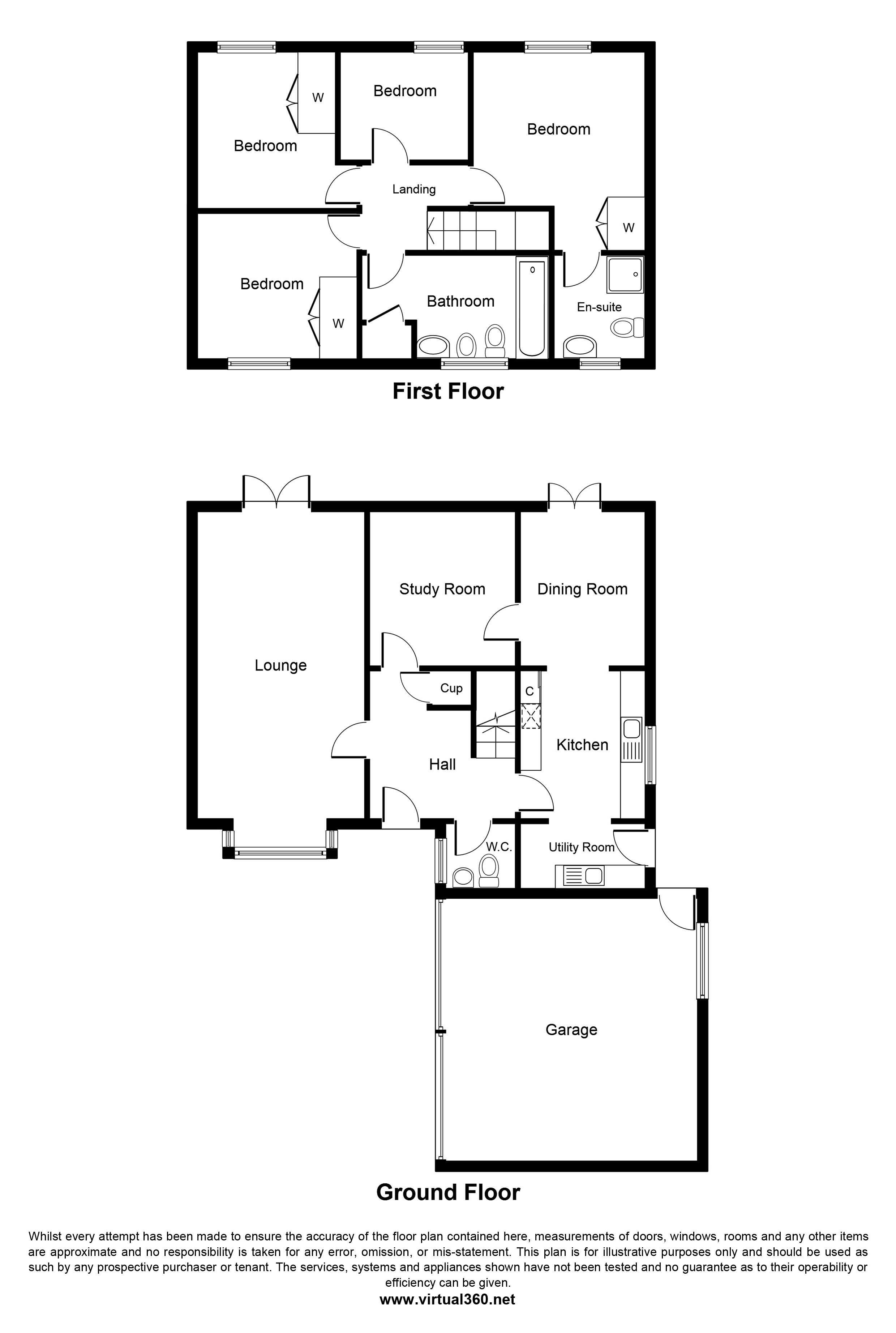 The Gluyas, Falmouth, Cornwall floor plan