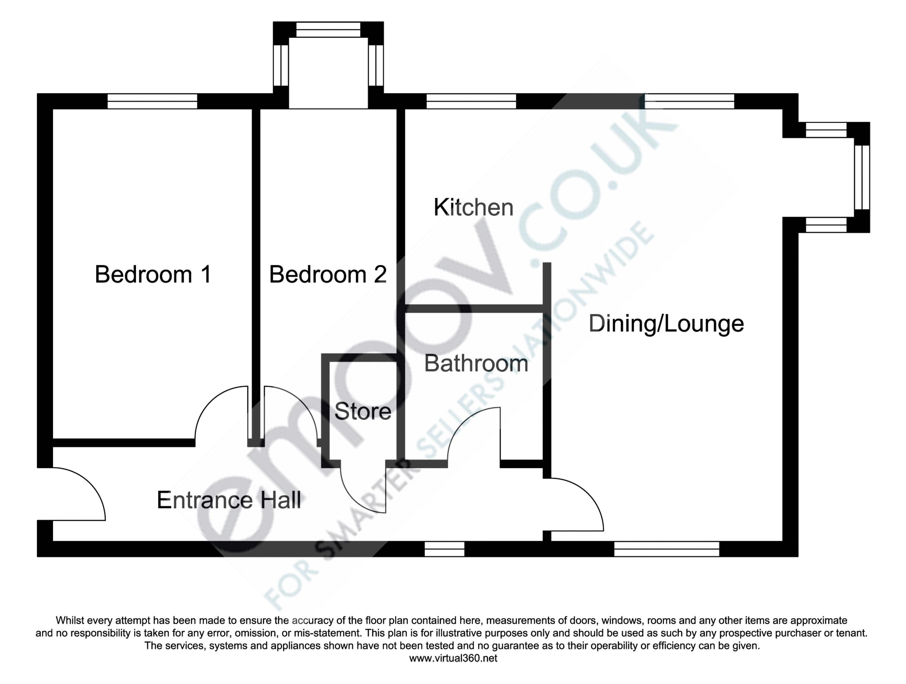 Sheader Drive, Salford floor plan