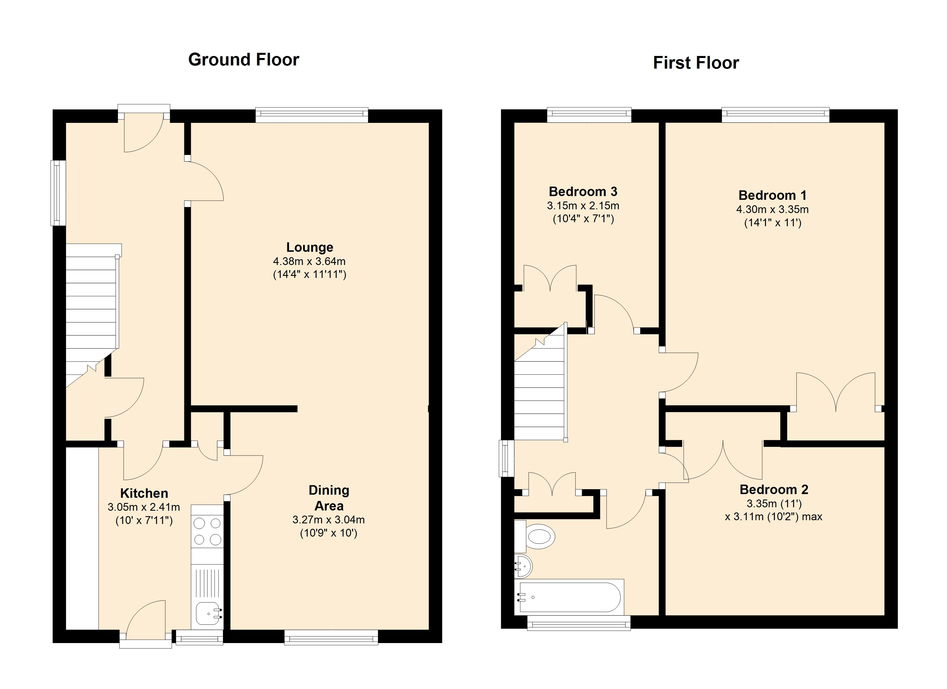 Heddle Grove, Coventry, CV6 floor plan