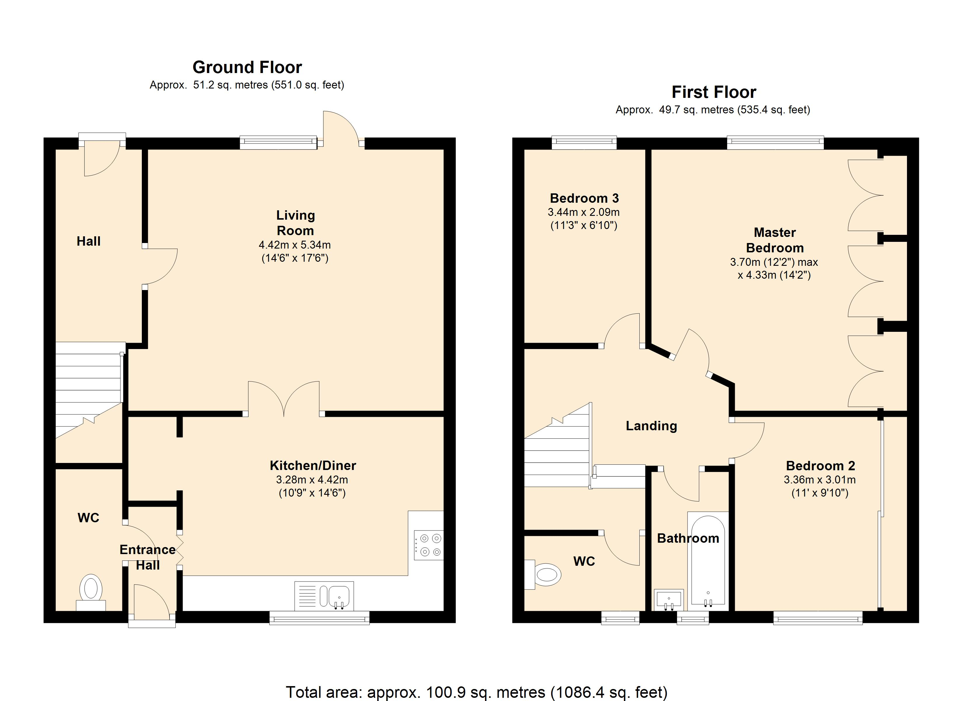 Fearnley Road, Hoyland common, S74 floor plan