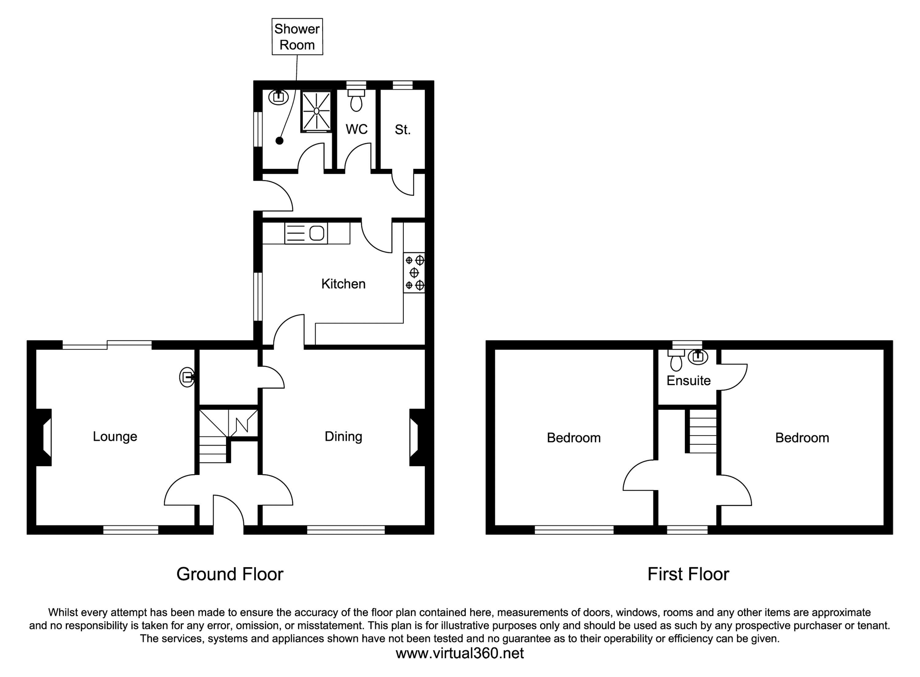 Pigwhistle Cottage Cross Lane Alkborough Scunthorpe DN15 floor plan