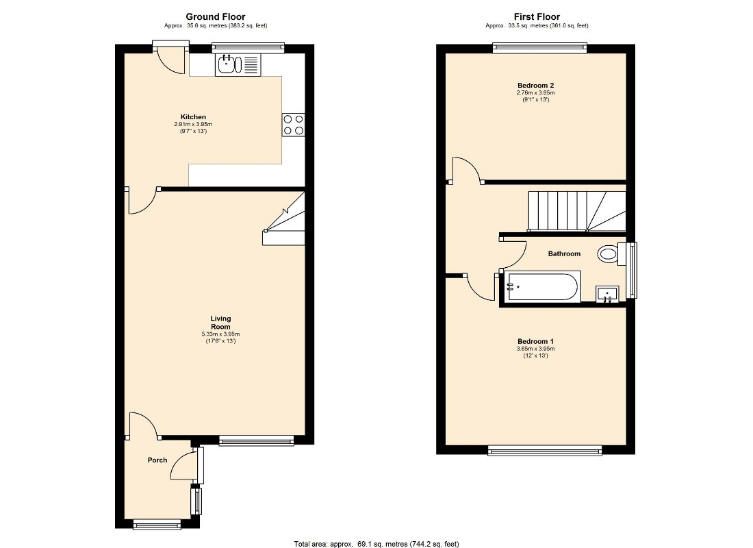 Haighside Way, Rothwell, Leeds, LS26 floor plan