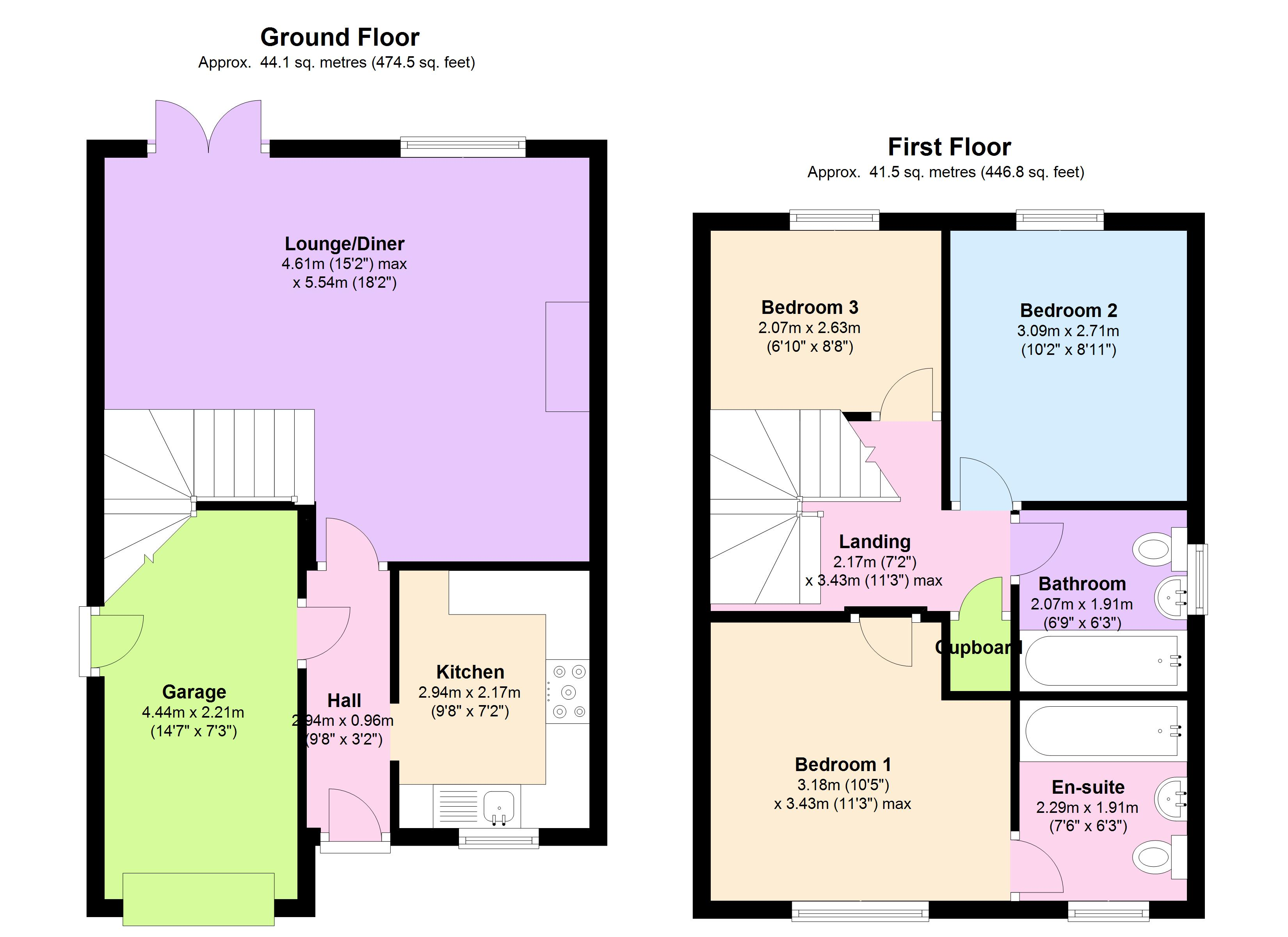 Detached house for sale in highgrove stone st15 from emoov for Highgrove house floor plan