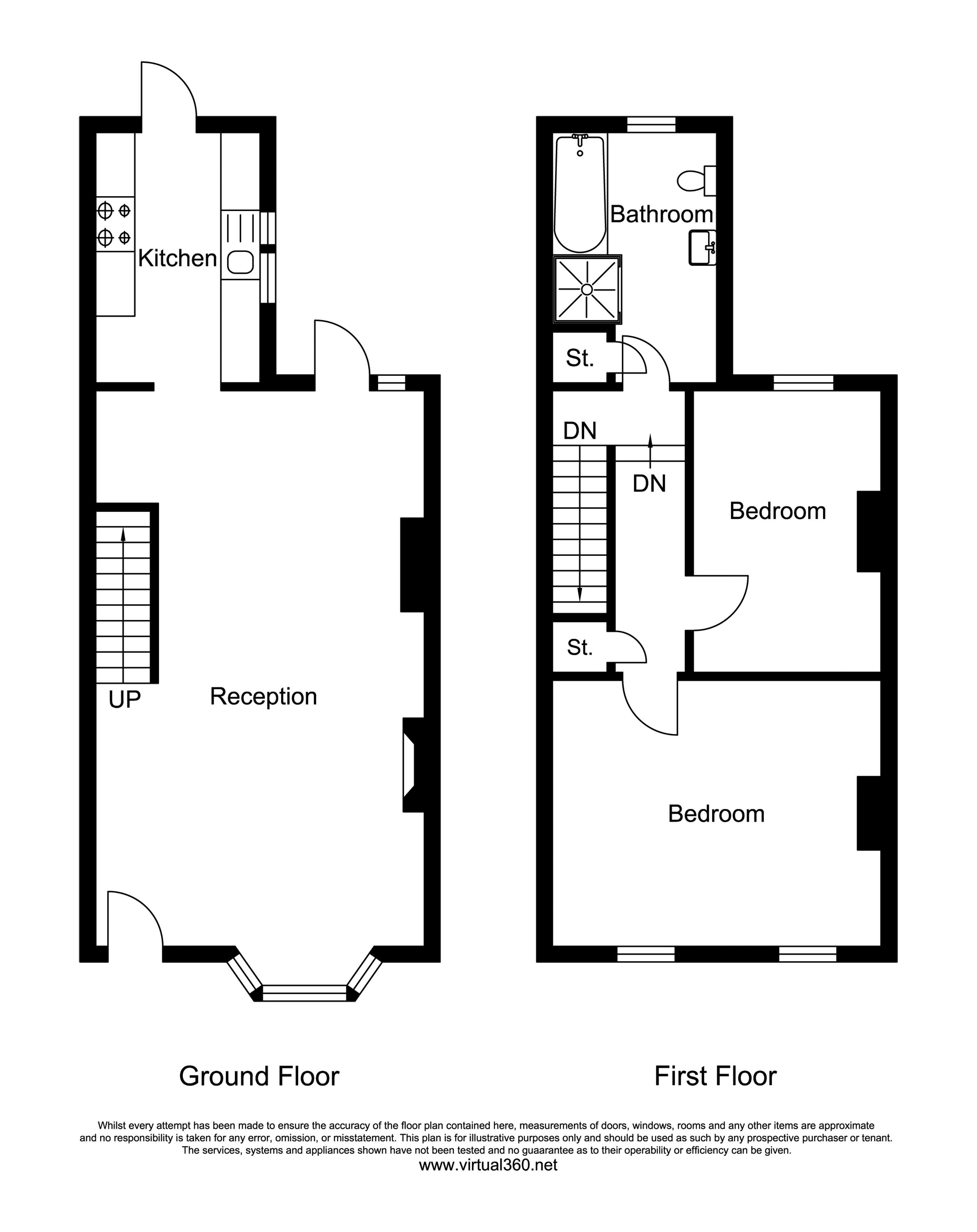 Sherland Road, Twickenham floor plan