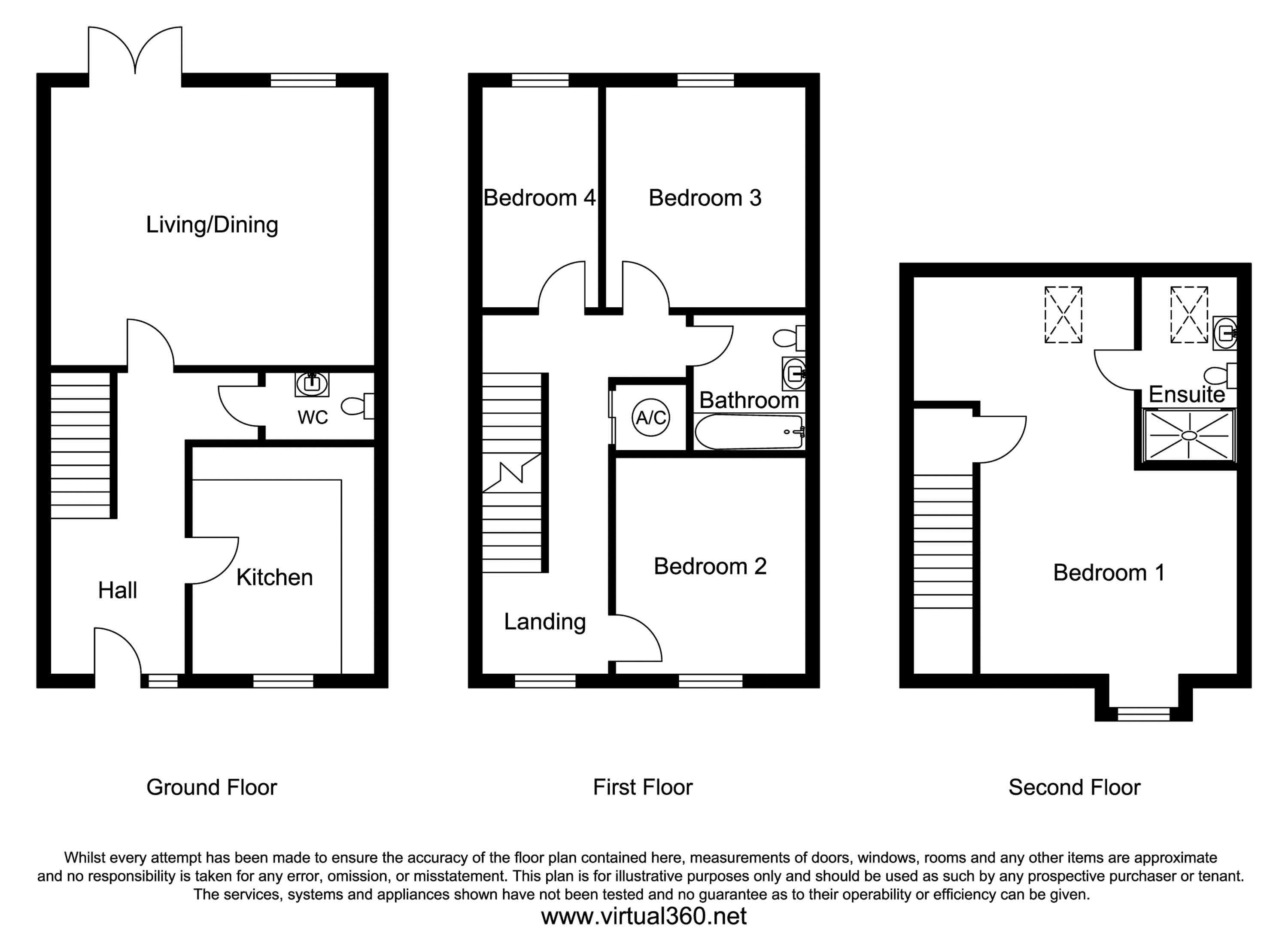 Brooklands Avenue, Bedford floor plan
