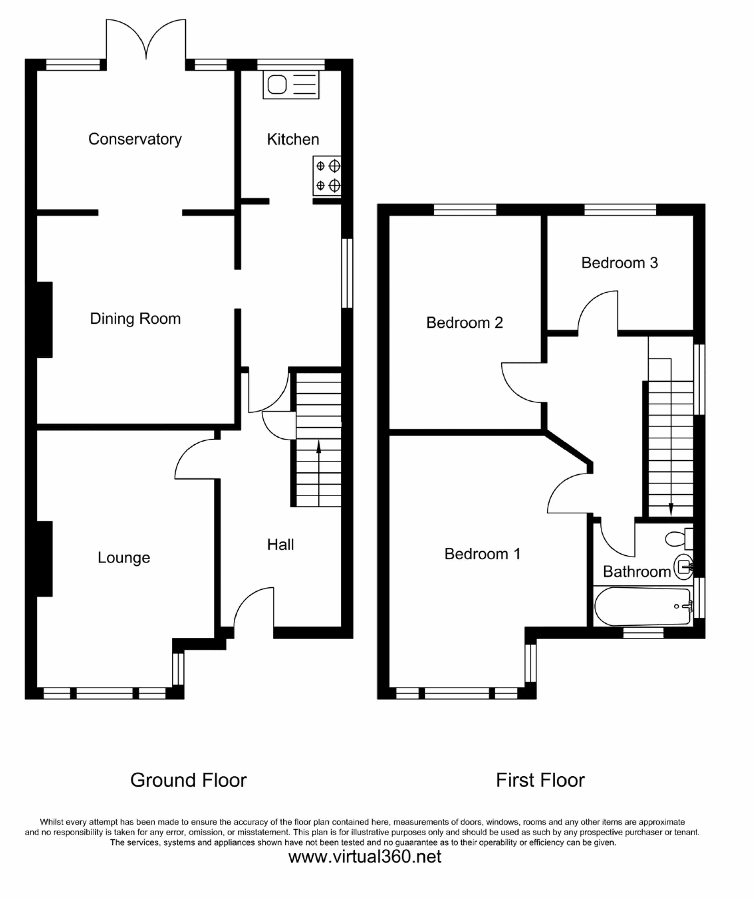 Cordery Road, Exeter floor plan