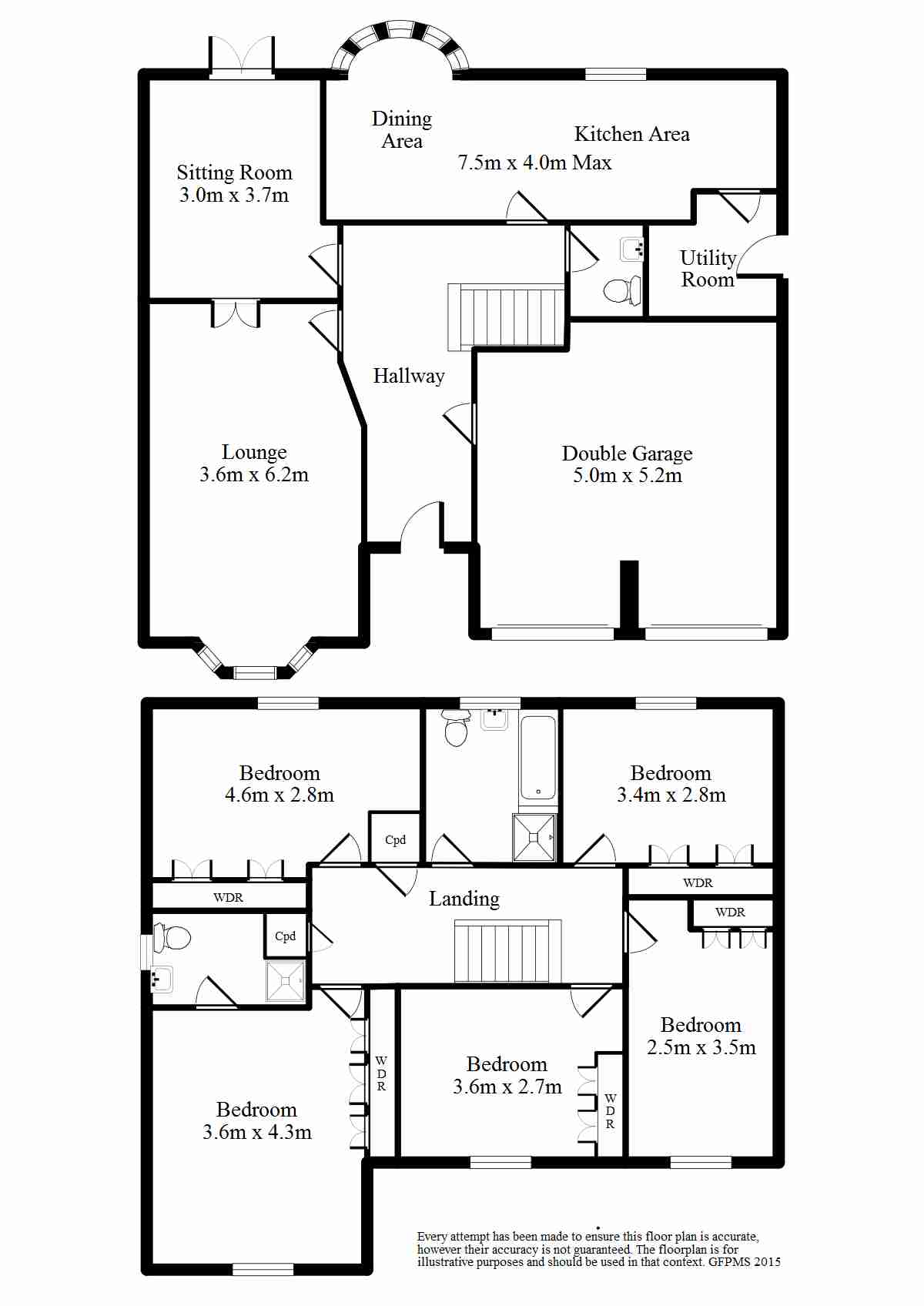 Effingham Road, Harden, Bingley floor plan