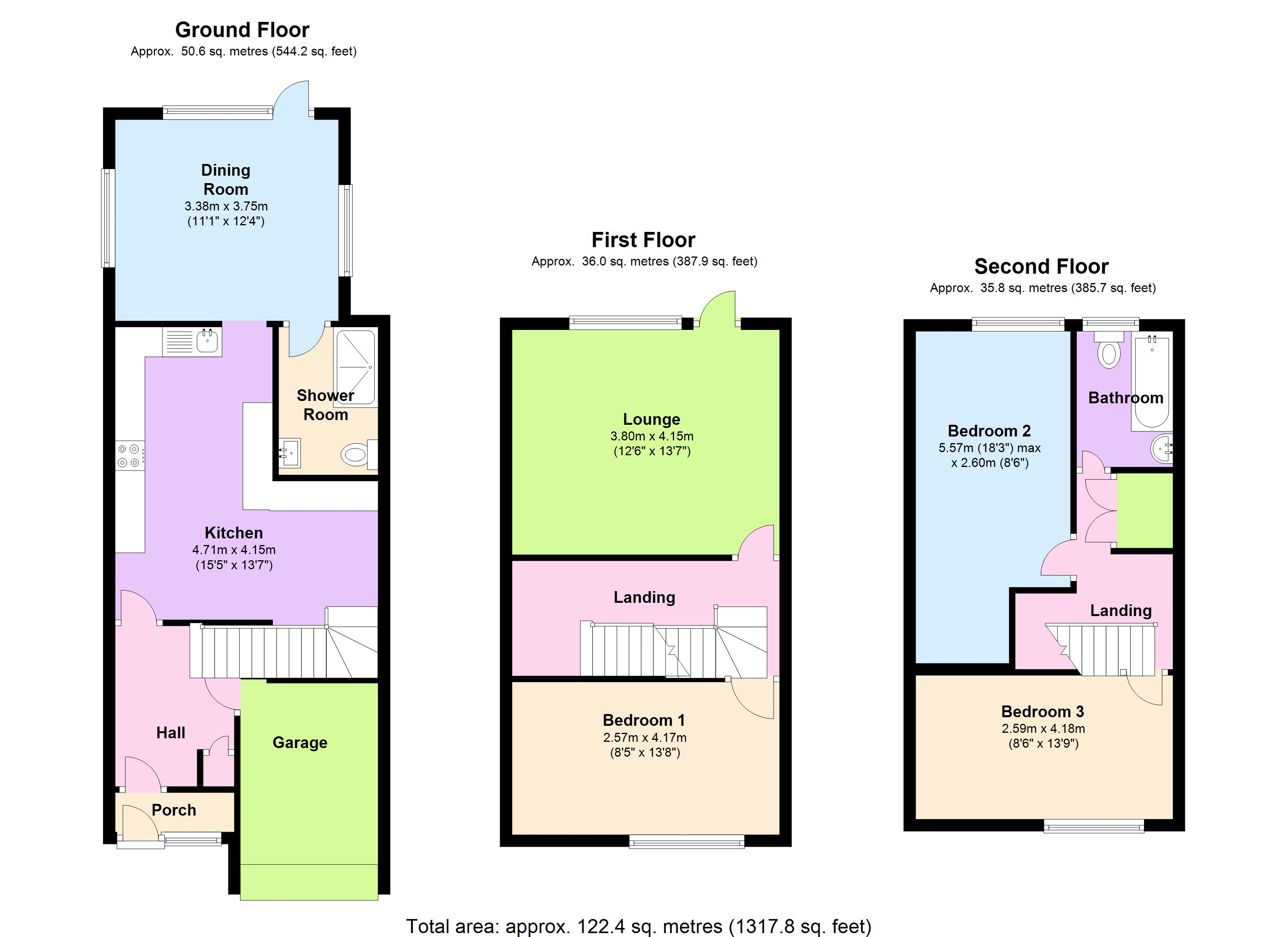 Aldwych Close, Hornchurch, RM12 floor plan