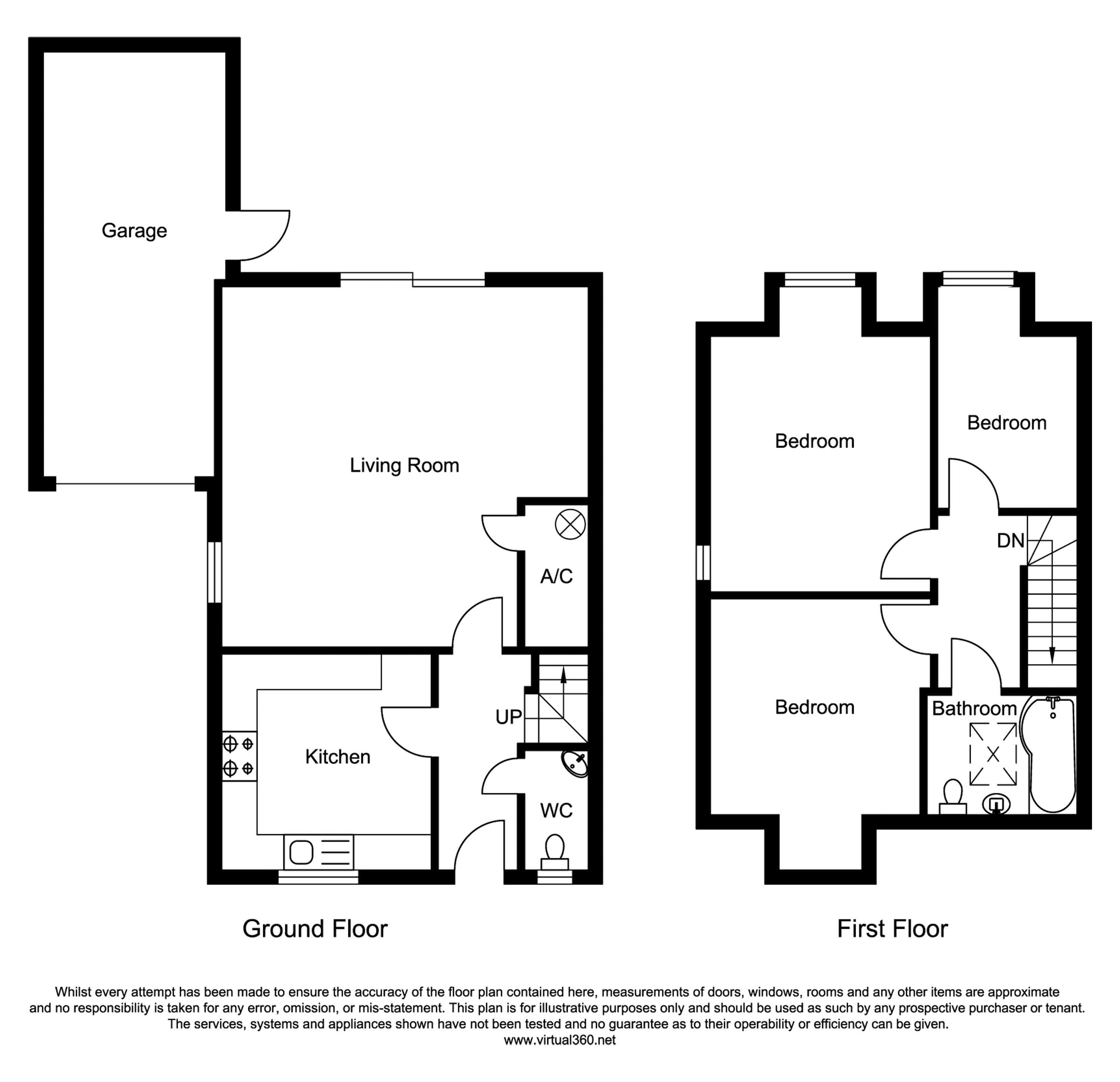 Penbere Close, Pamber Heath, Hampshire floor plan