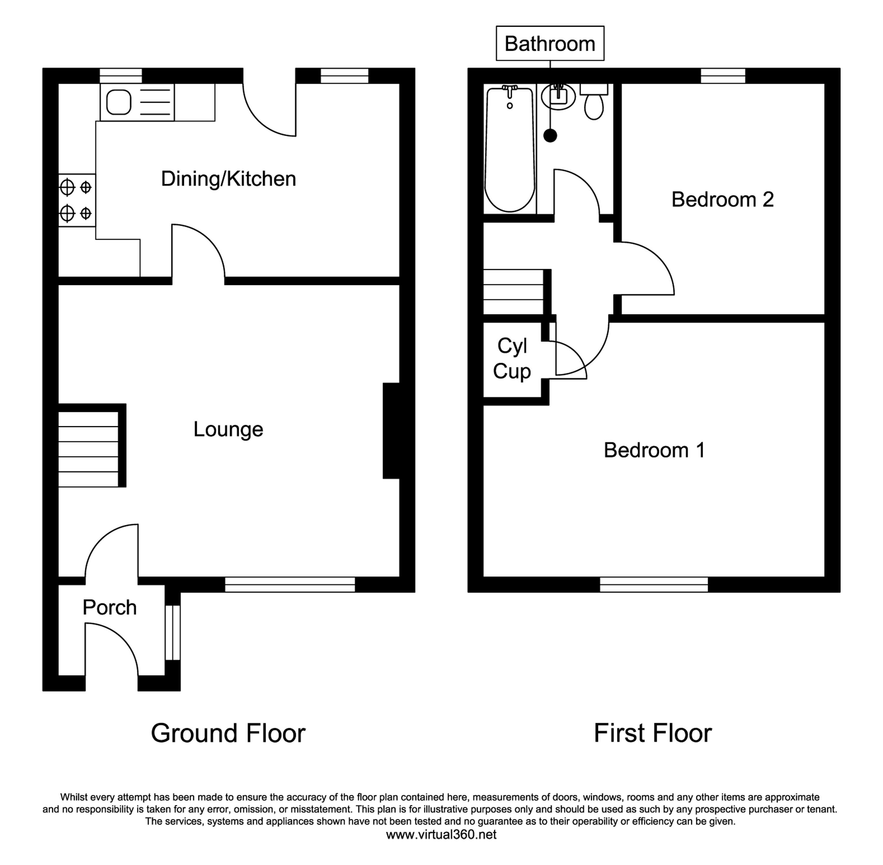 Pasture Avenue, Oakworth, Keighley floor plan