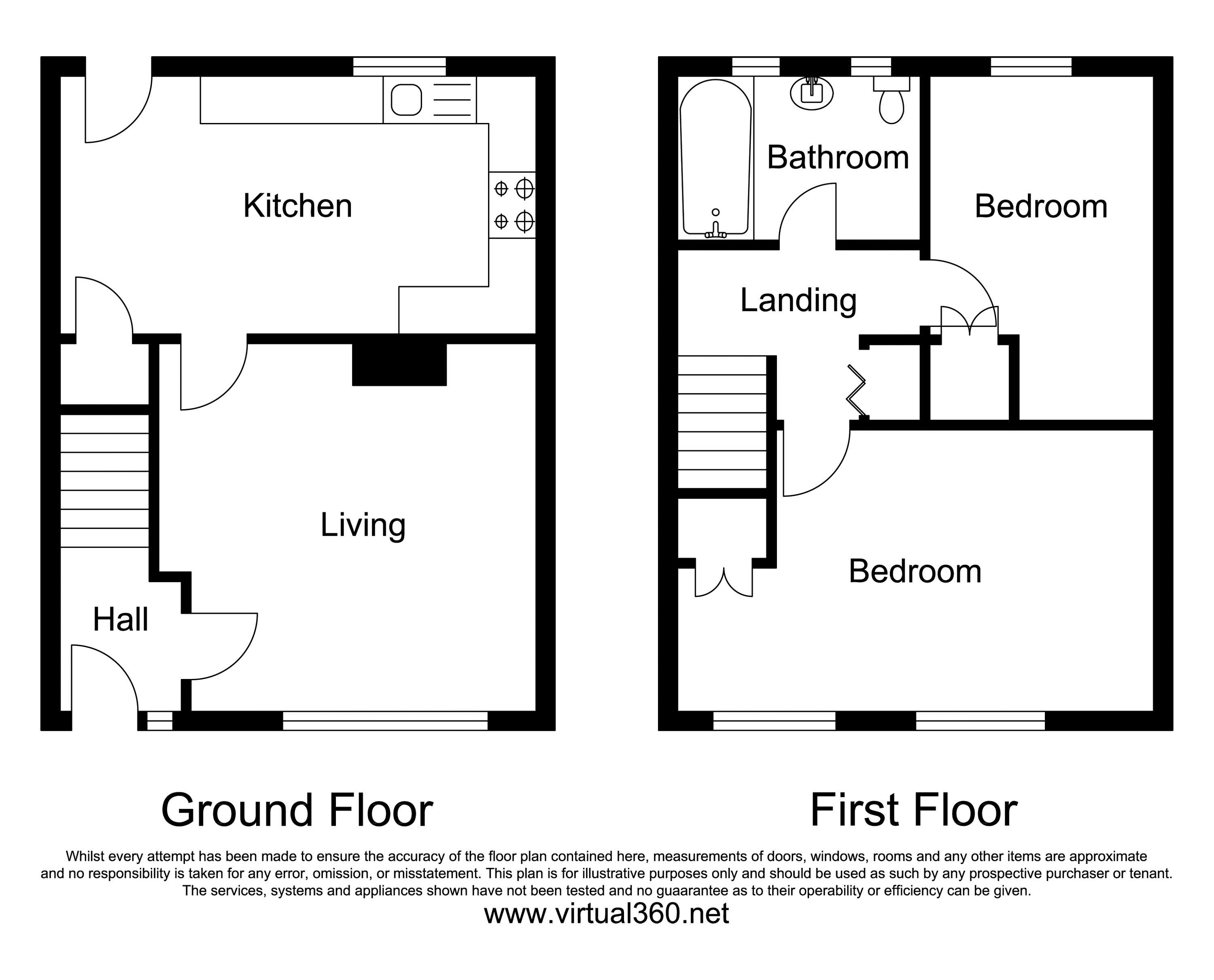 Letchworth Close, Watford floor plan