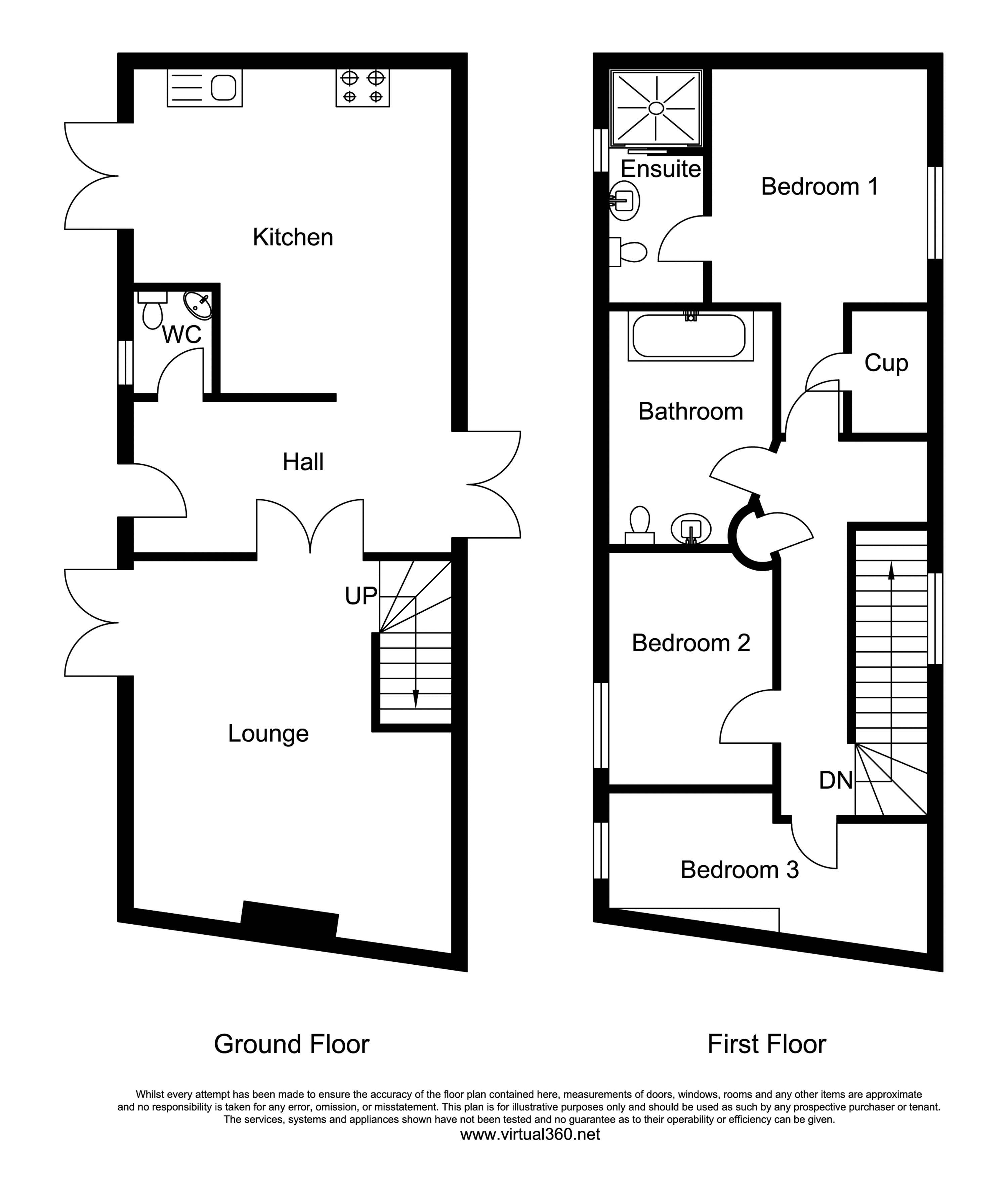 Monkton, Honiton, Devon floor plan