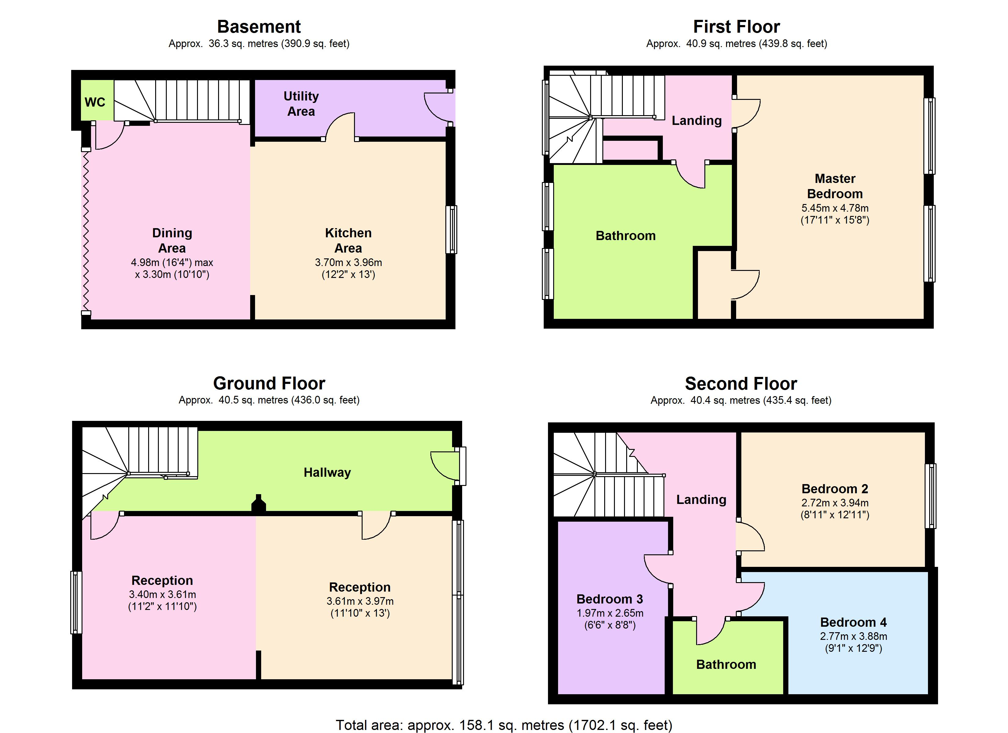 Eastlake Road, London, SE5 floor plan
