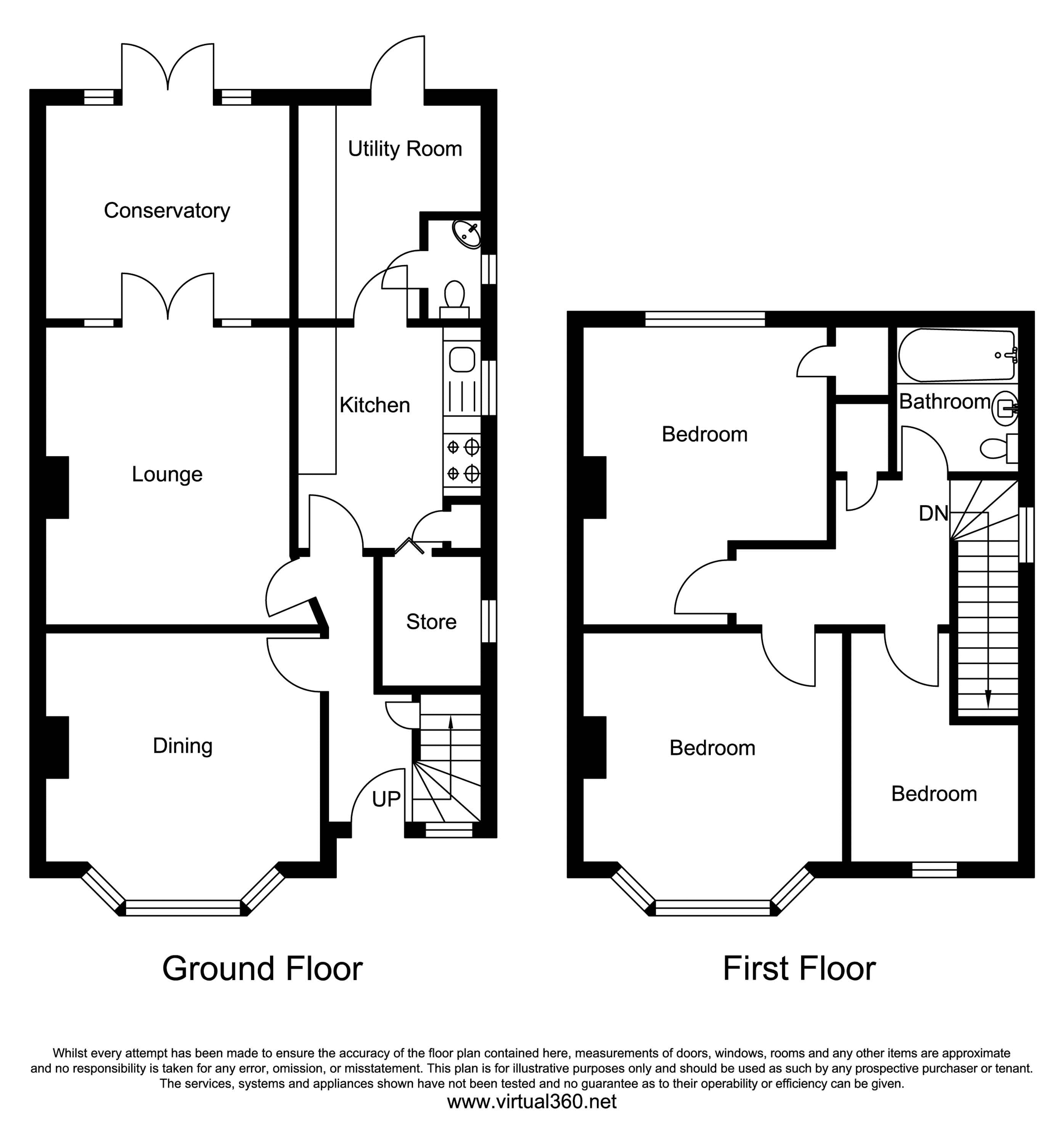 Chertsey Road, Feltham floor plan