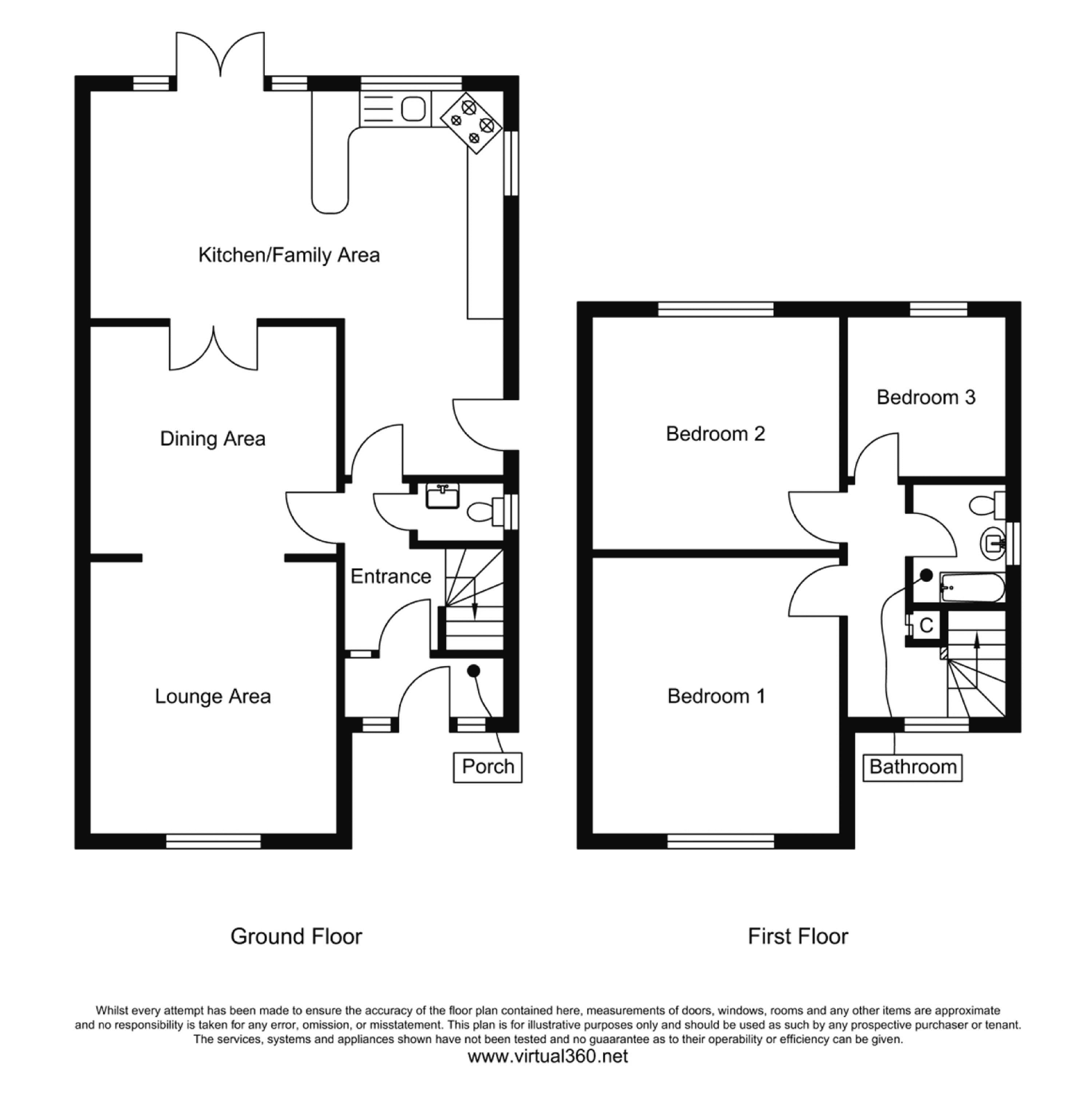 Cedarland Crescent, Nottingham floor plan