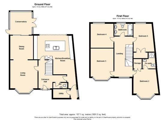 Sundridge Avenue, Chislehurst, BR7 floor plan