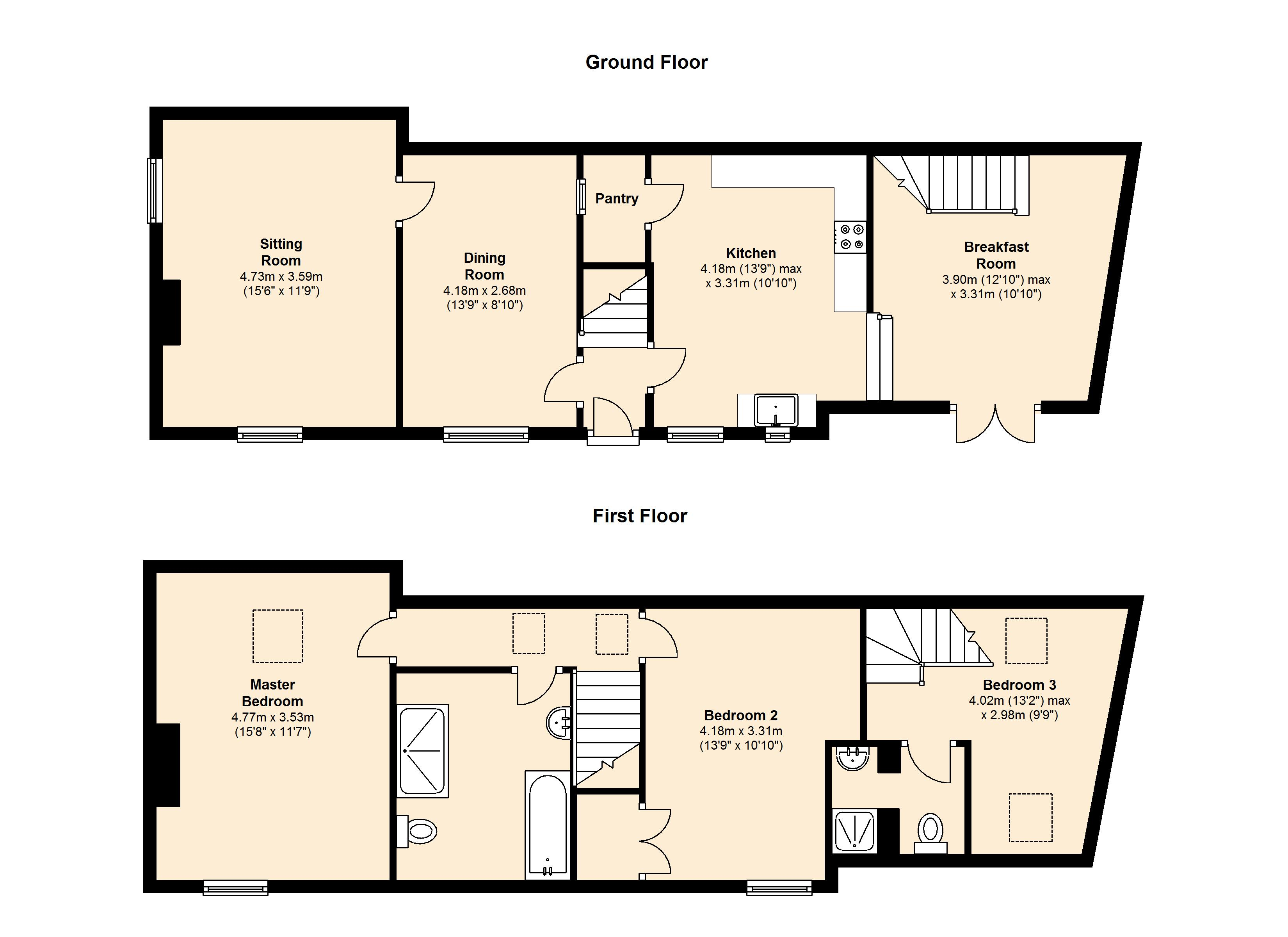 Church Street, Byfield, NN11 floor plan