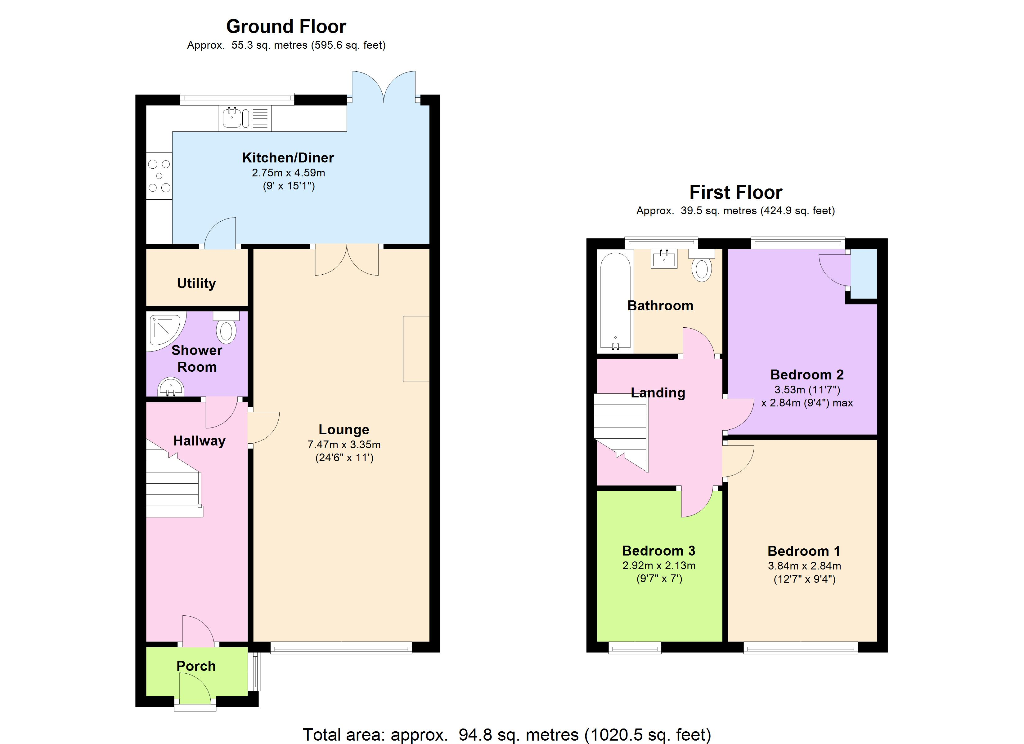 Morecambe Close, Hornchurch, RM12 floor plan