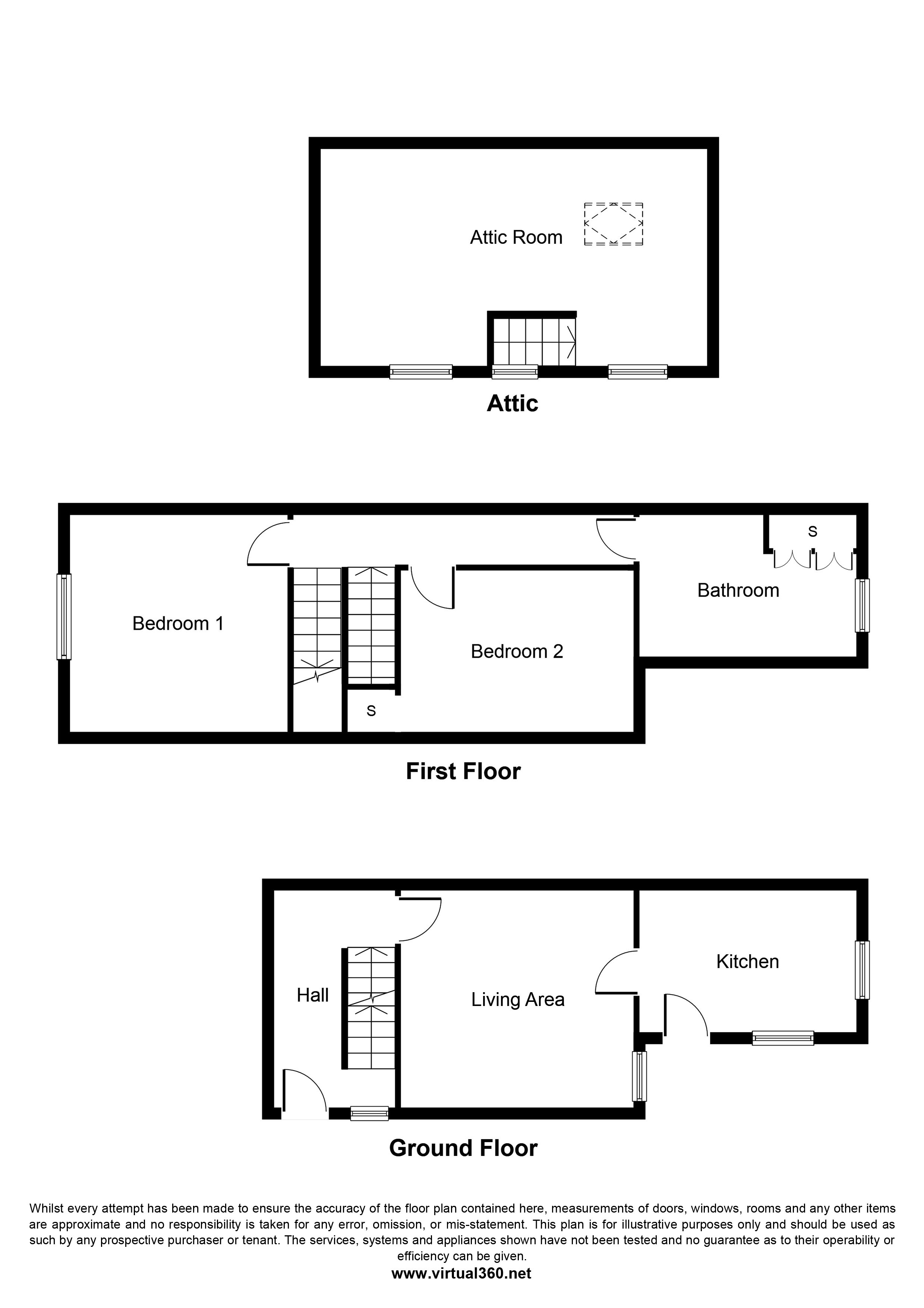 Village Street, Derby, DE23 floor plan