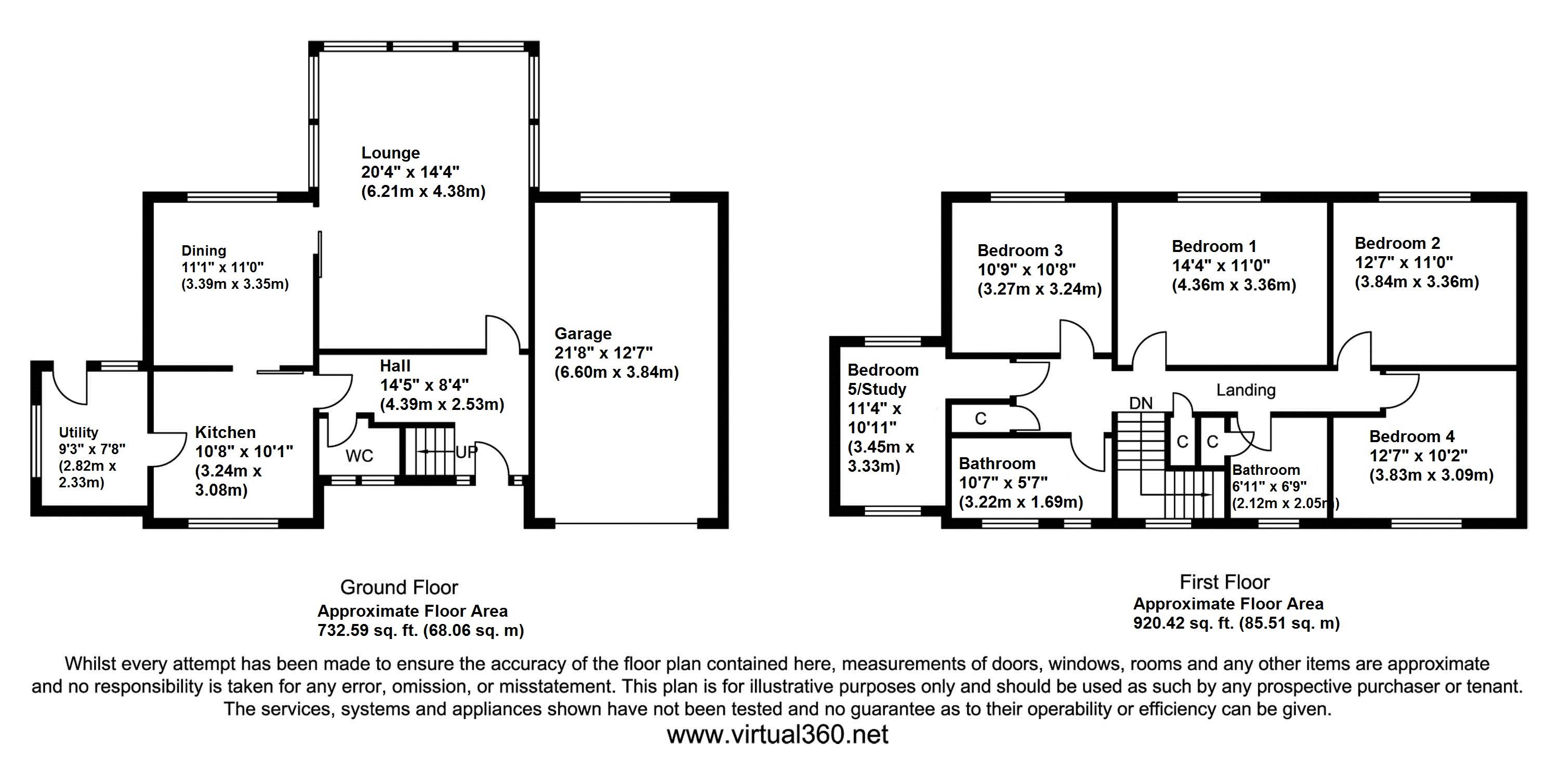 Yew Tree Avenue, Bradford, BD8 floor plan