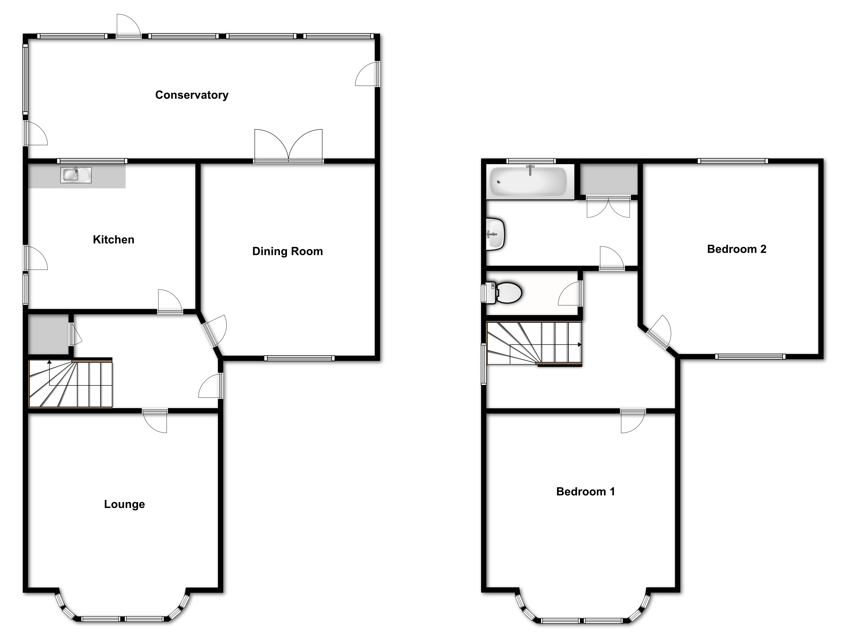 Southview Road, Hockley SS5 floor plan