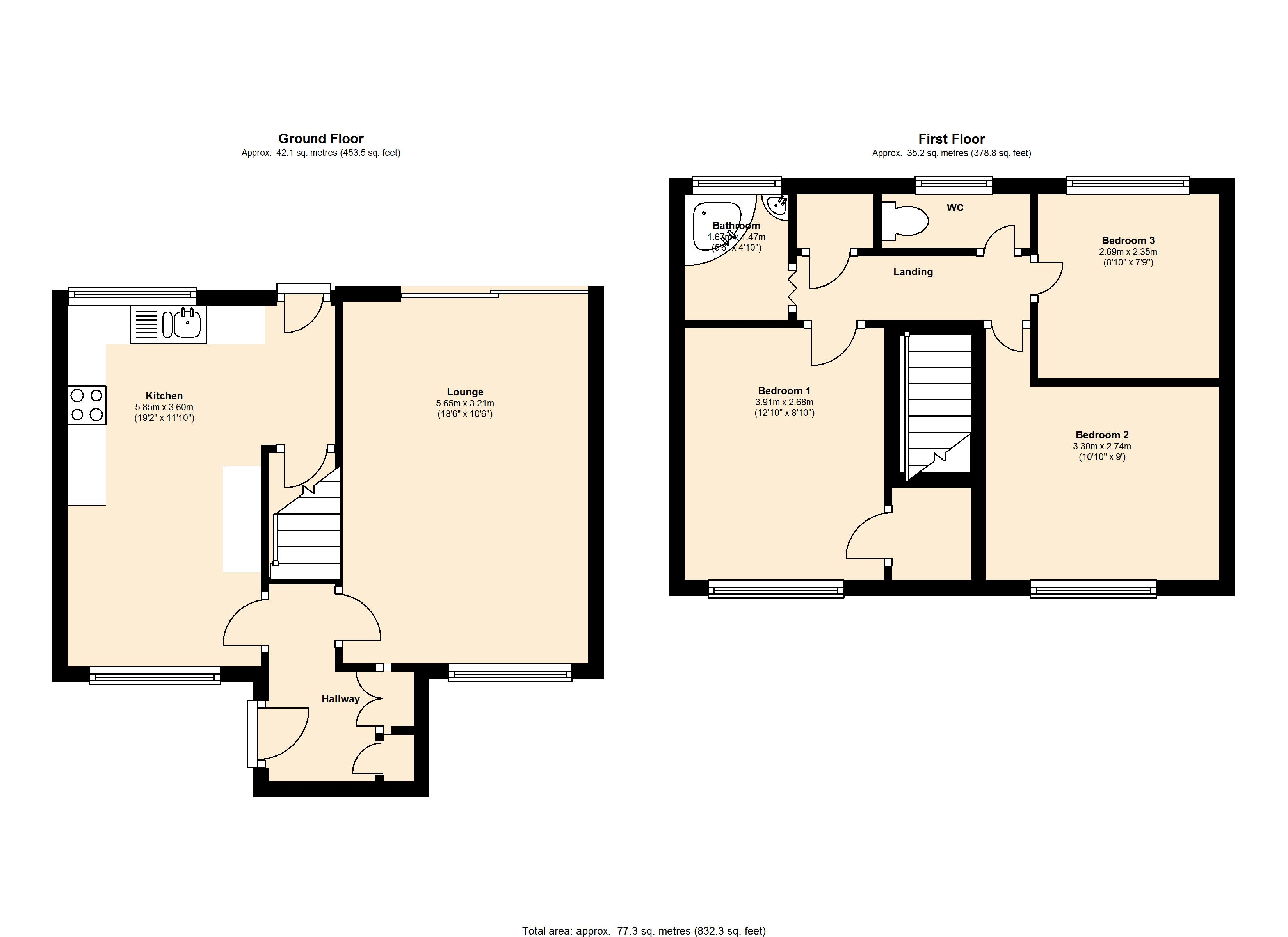 Brooks Croft, Birmingham, B35 floor plan
