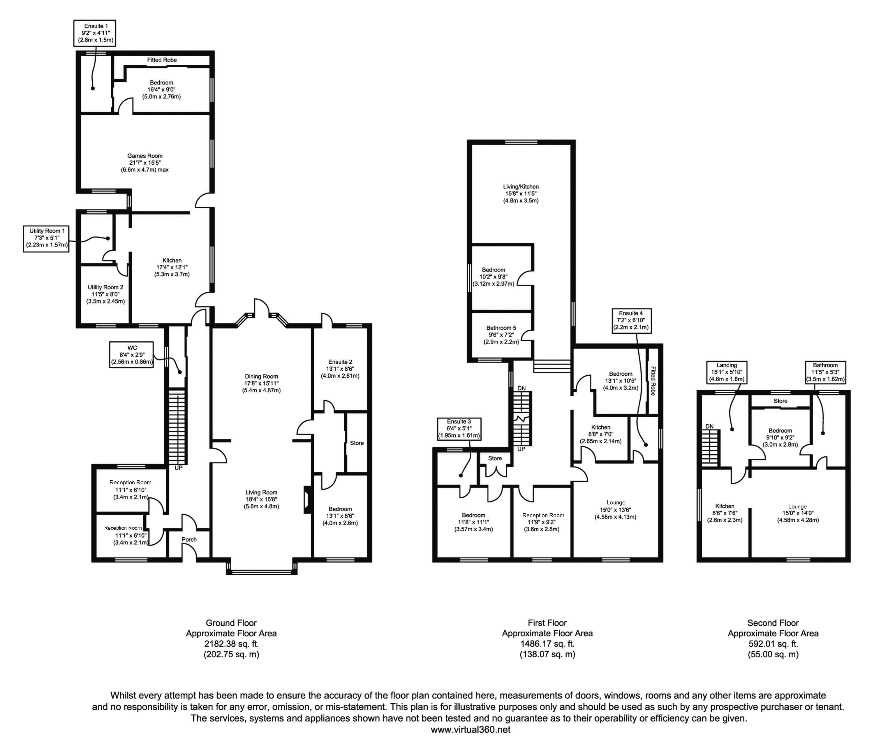 St Andrews Road South, Lytham St Annes floor plan
