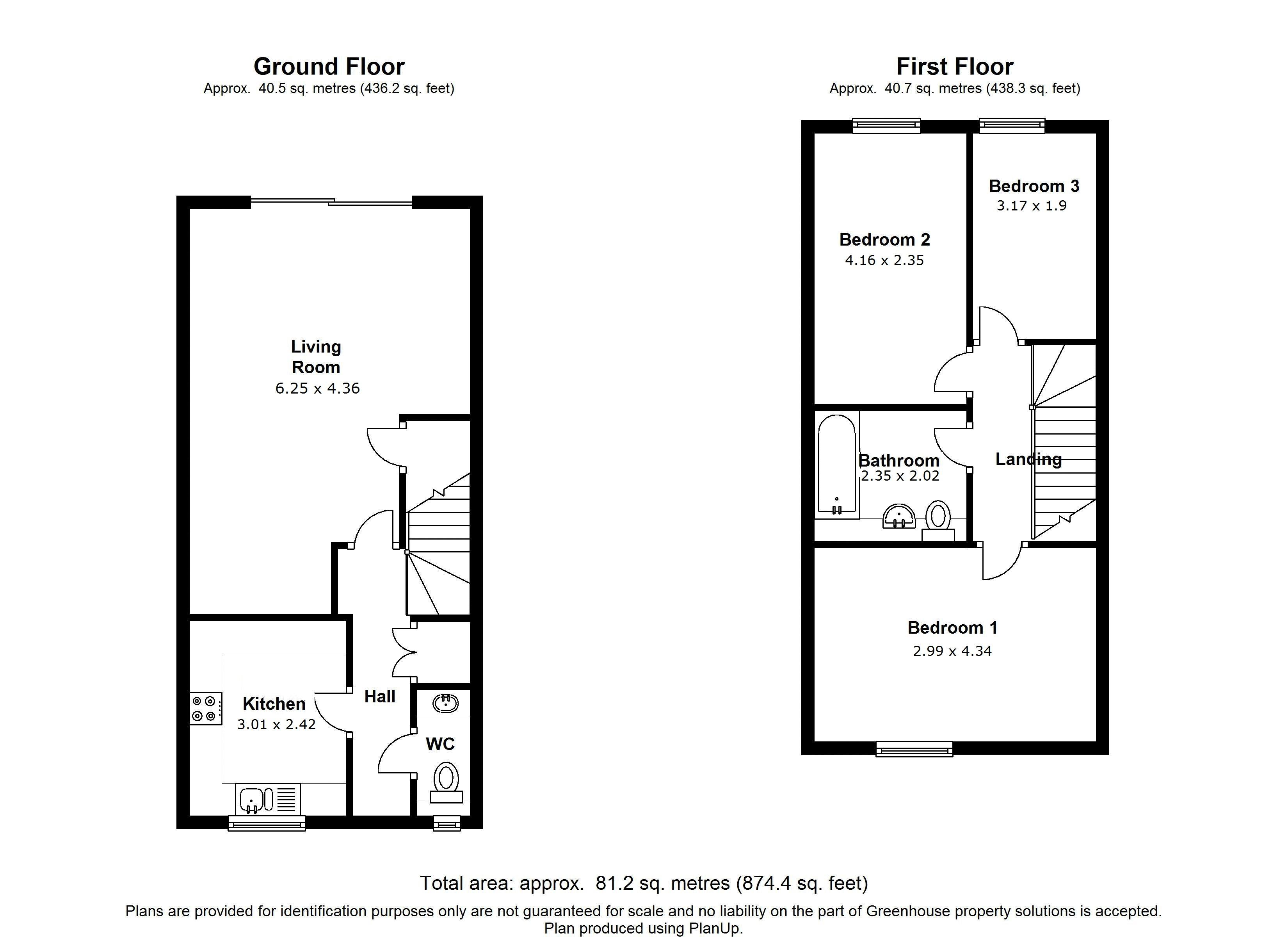 Aveling Close, Purley floor plan
