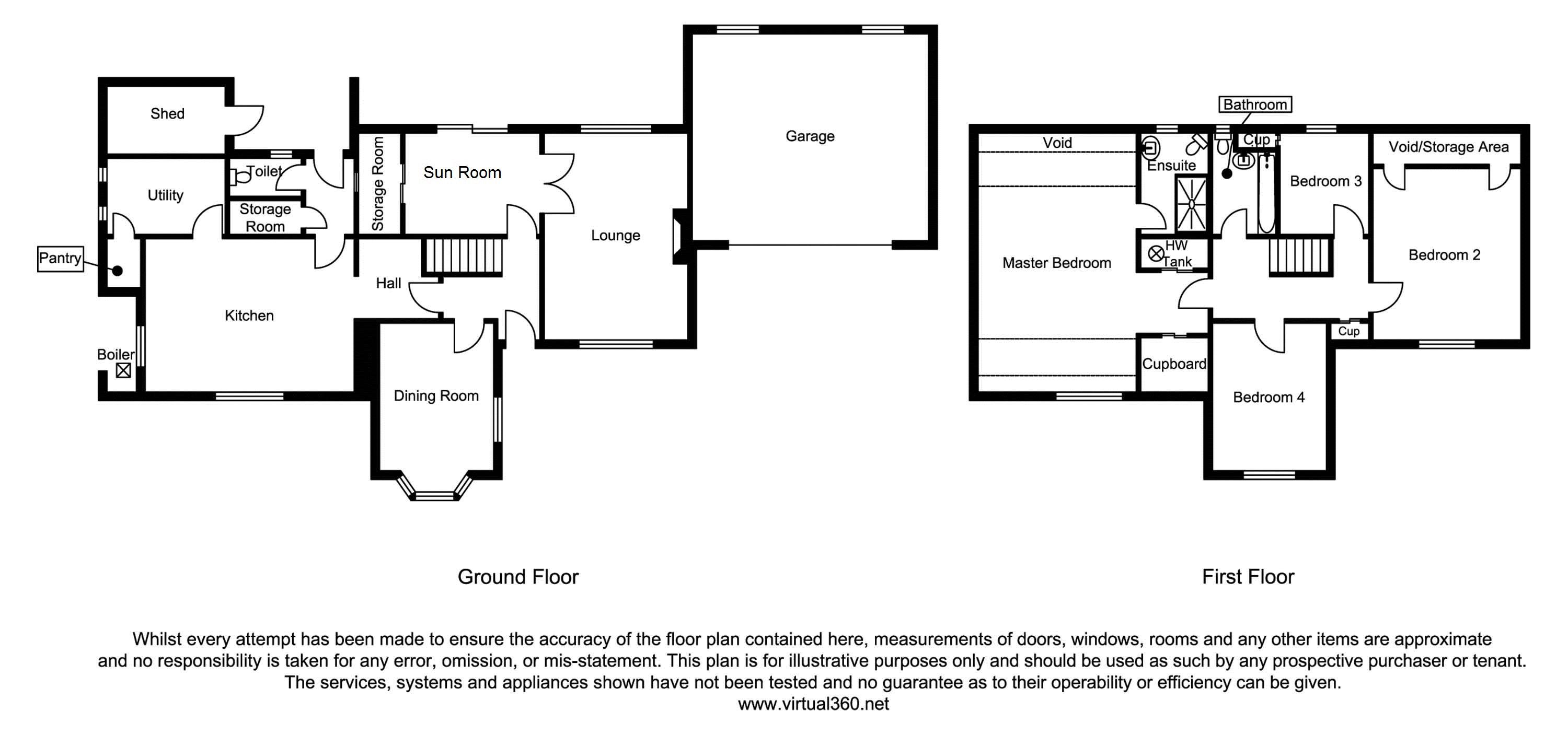 Croxton, Stafford floor plan