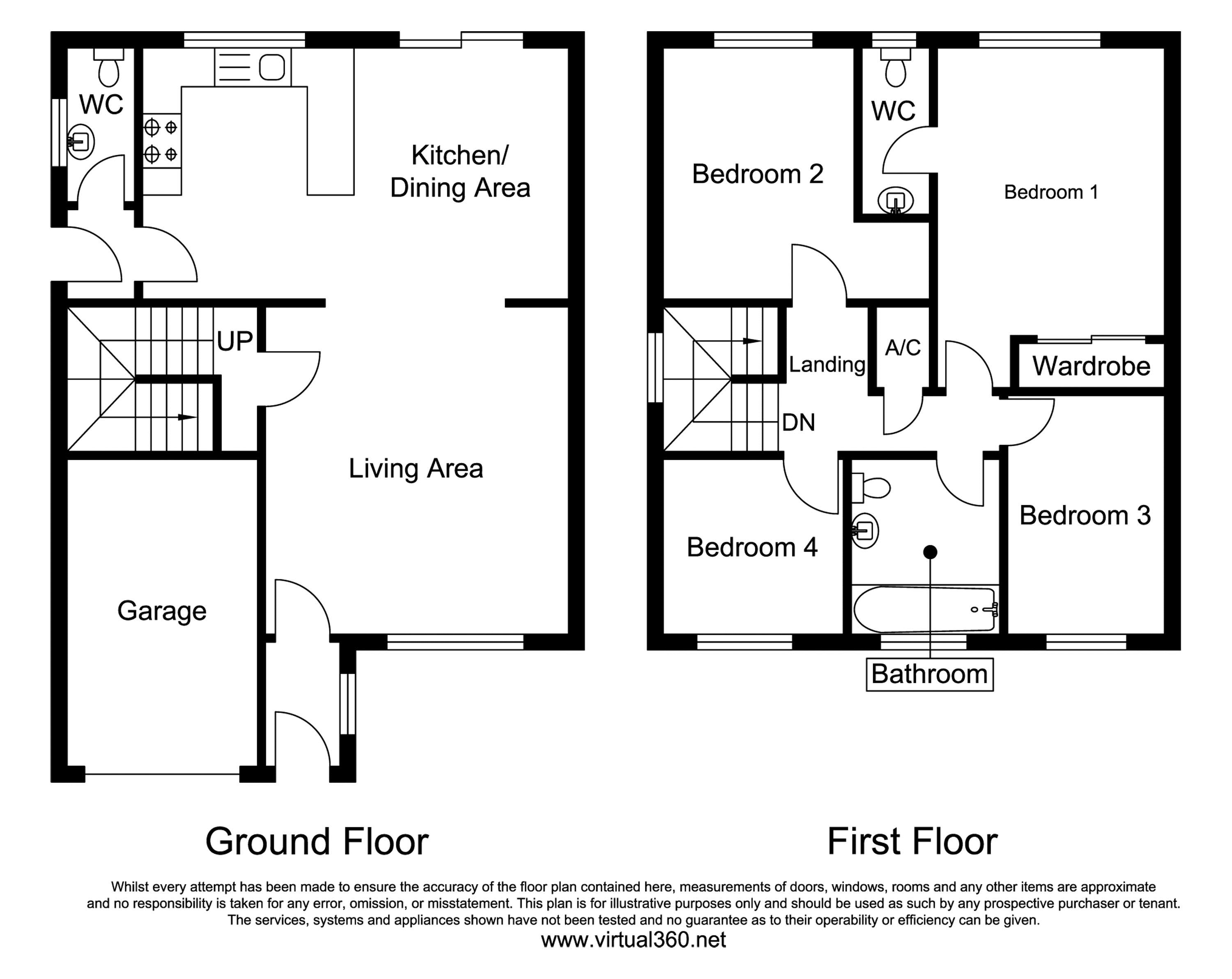 Lion D'angers, Taunton floor plan