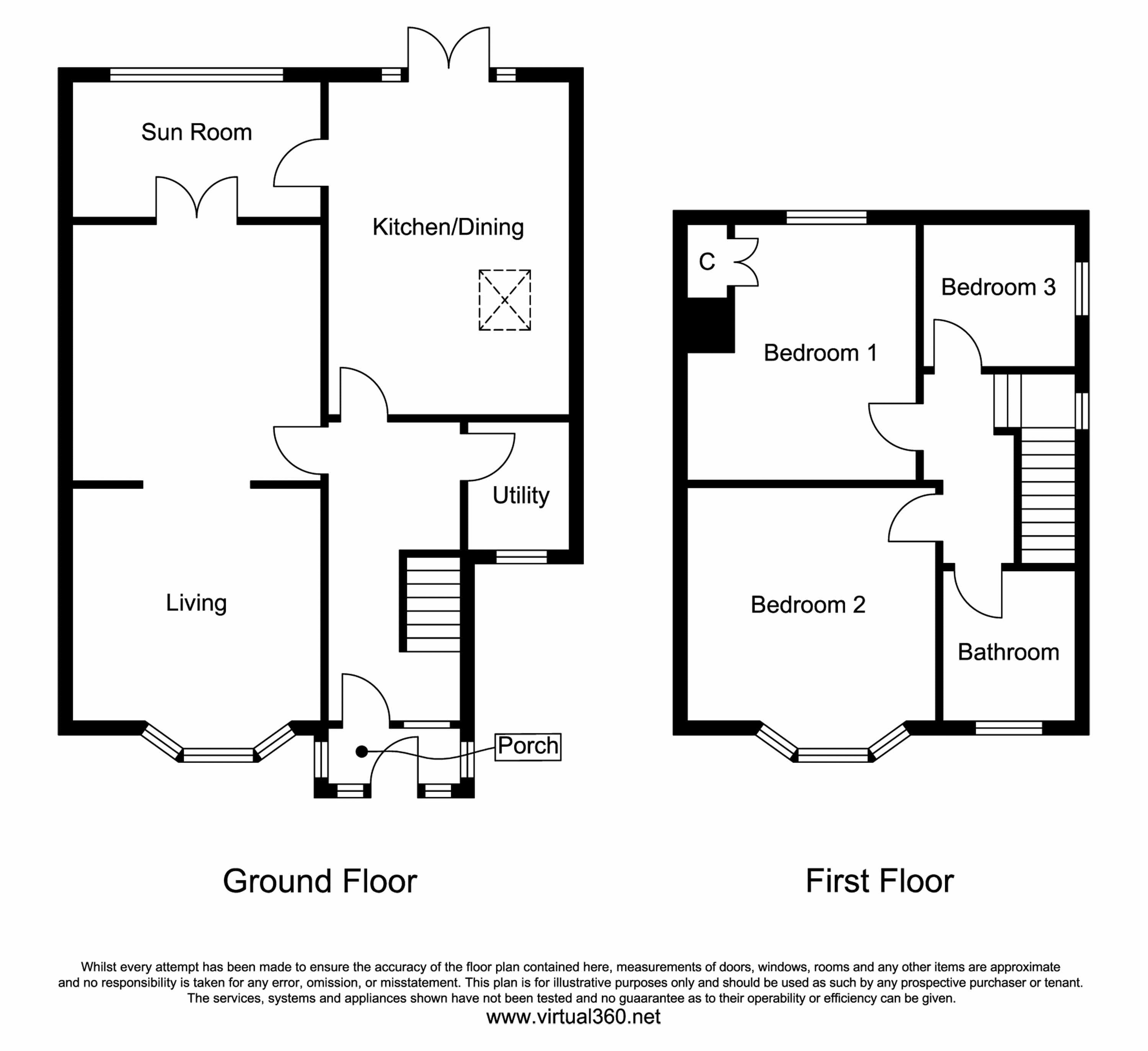Belwood Road, Manchester floor plan