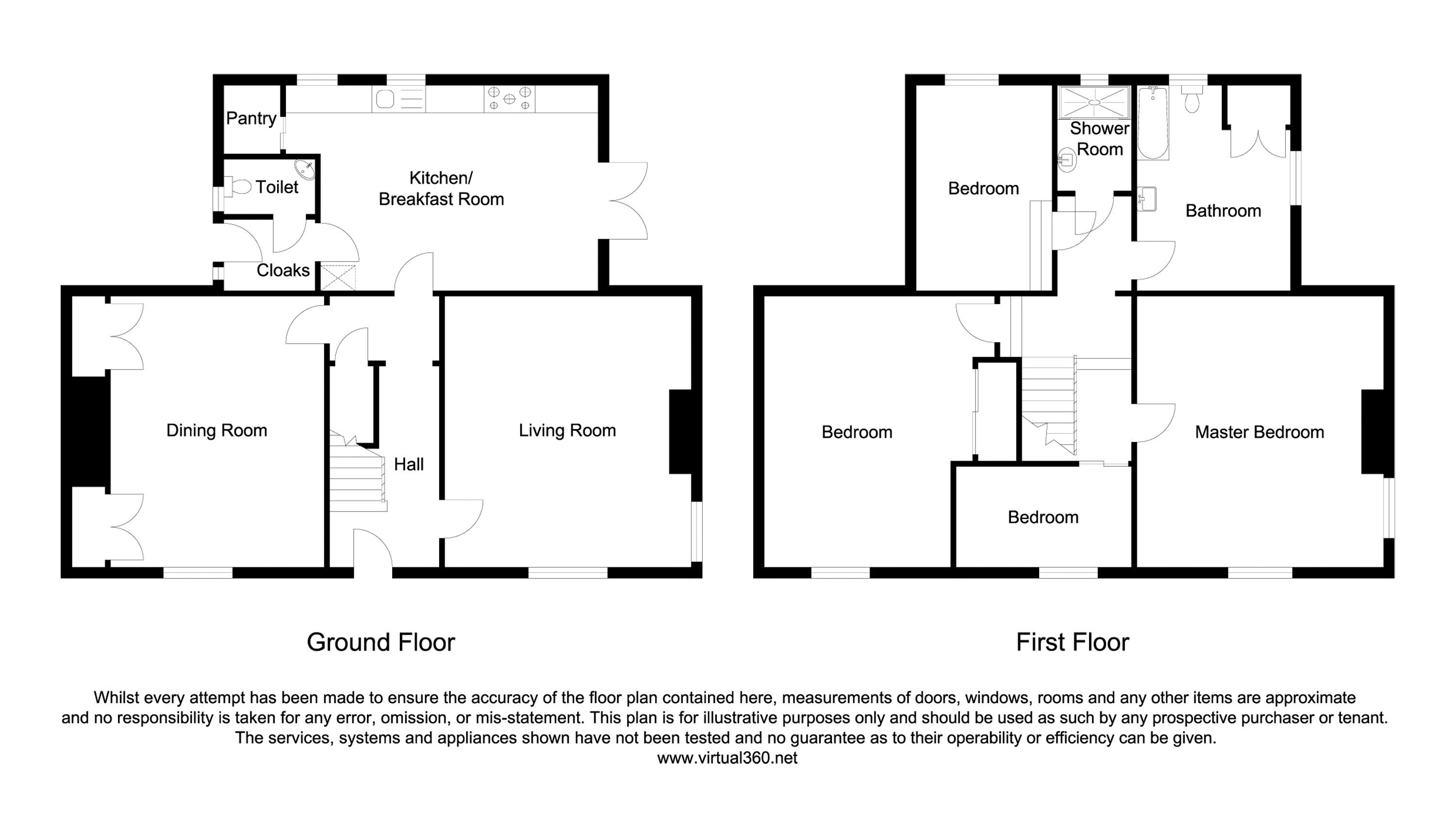 Leeward House, Pennystane Lane, Hillside East, Rothbury, Morpeth floor plan