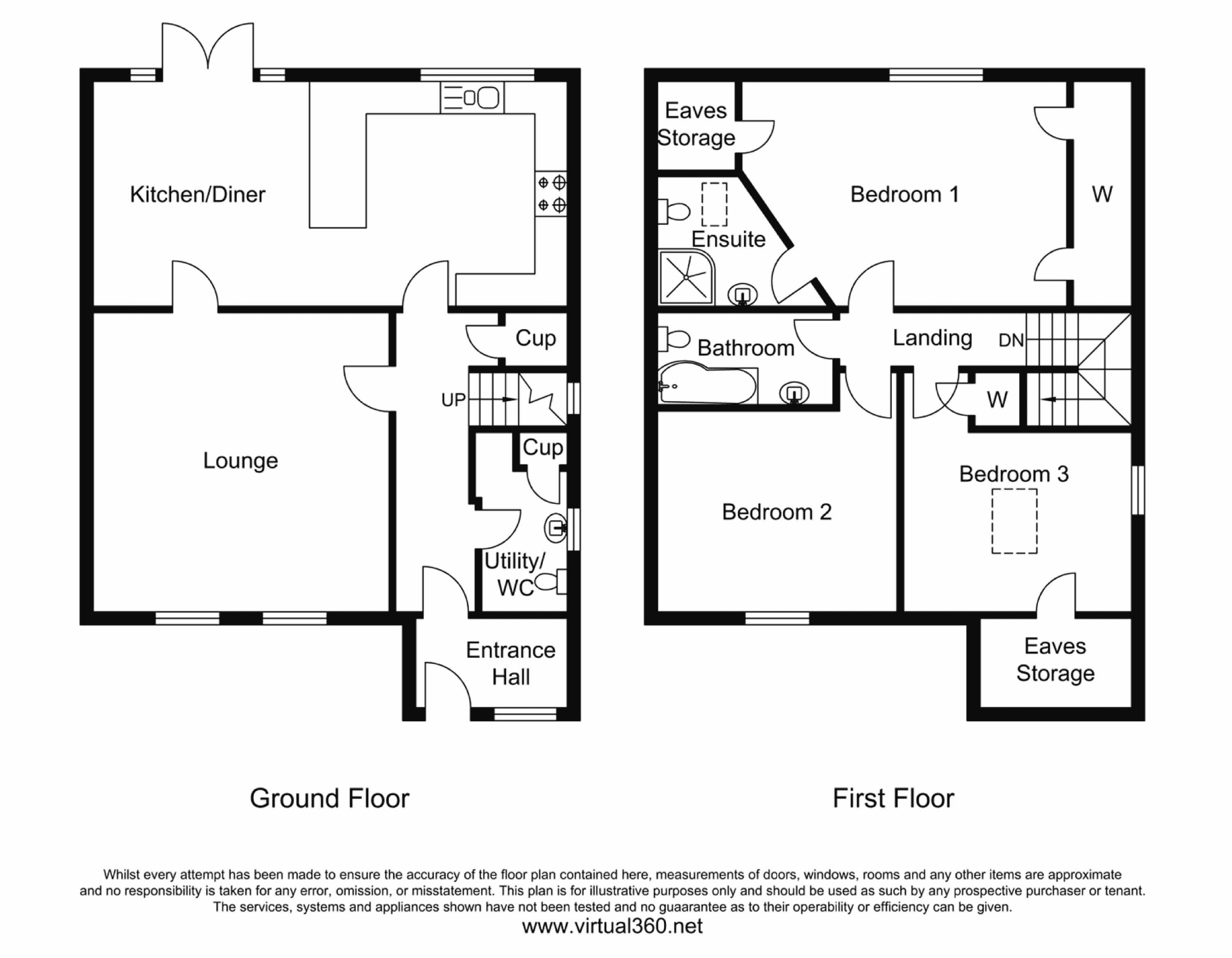 Short Cross Road, Truro floor plan