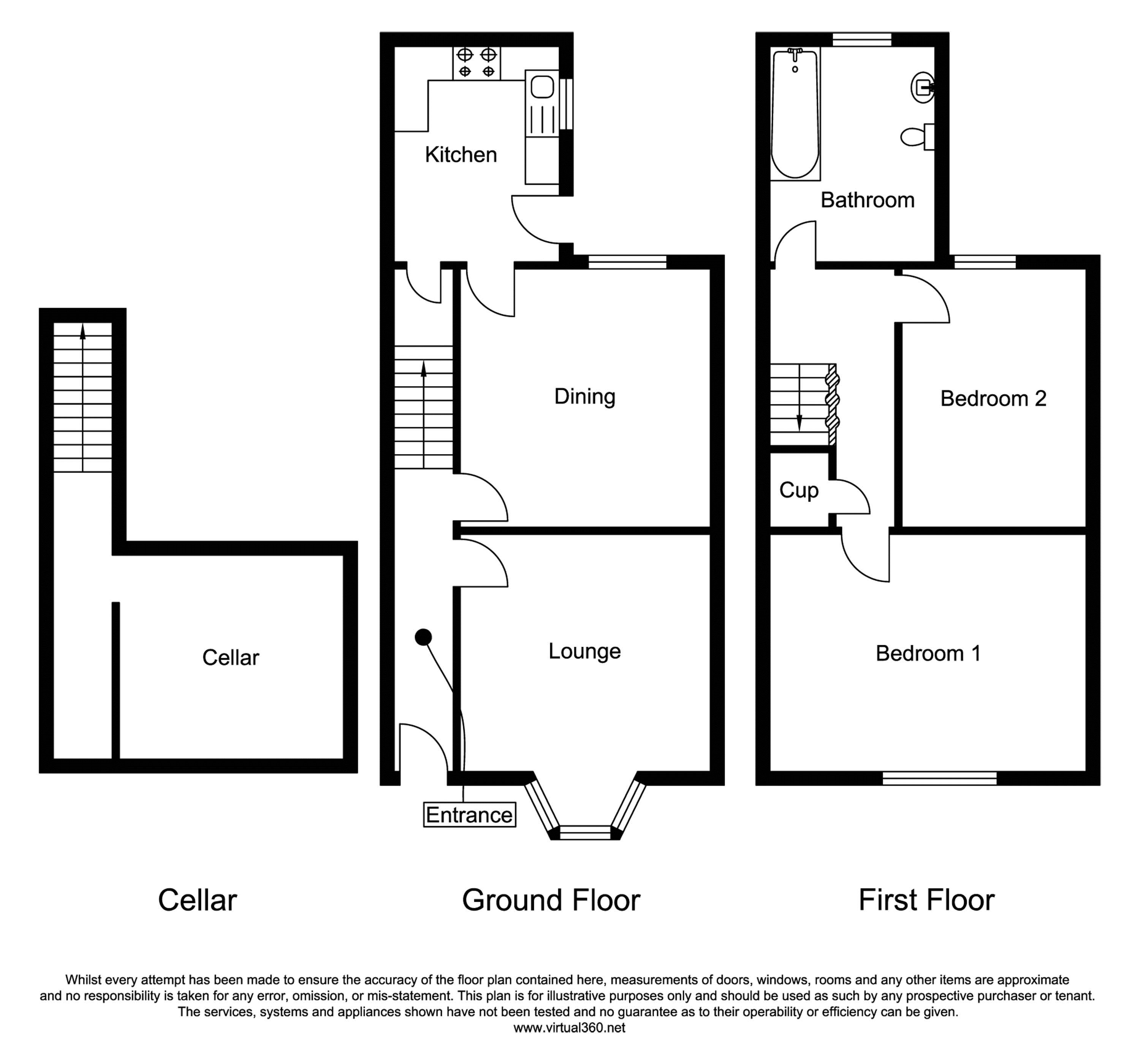 Appleton Gate, Newark floor plan