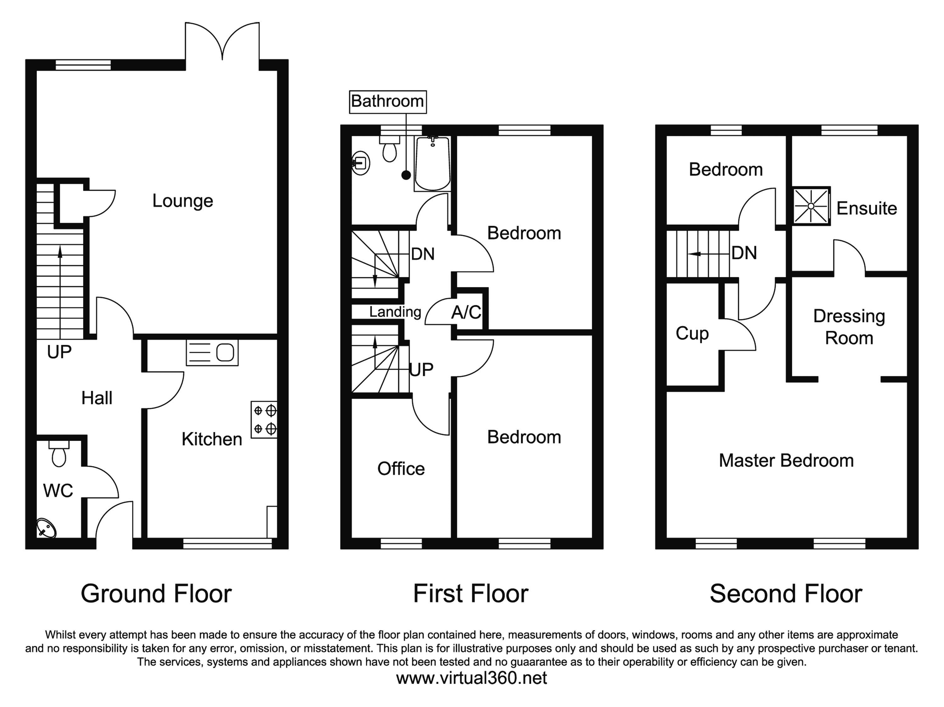 Valley Gardens Kingsway, Gloucester floor plan