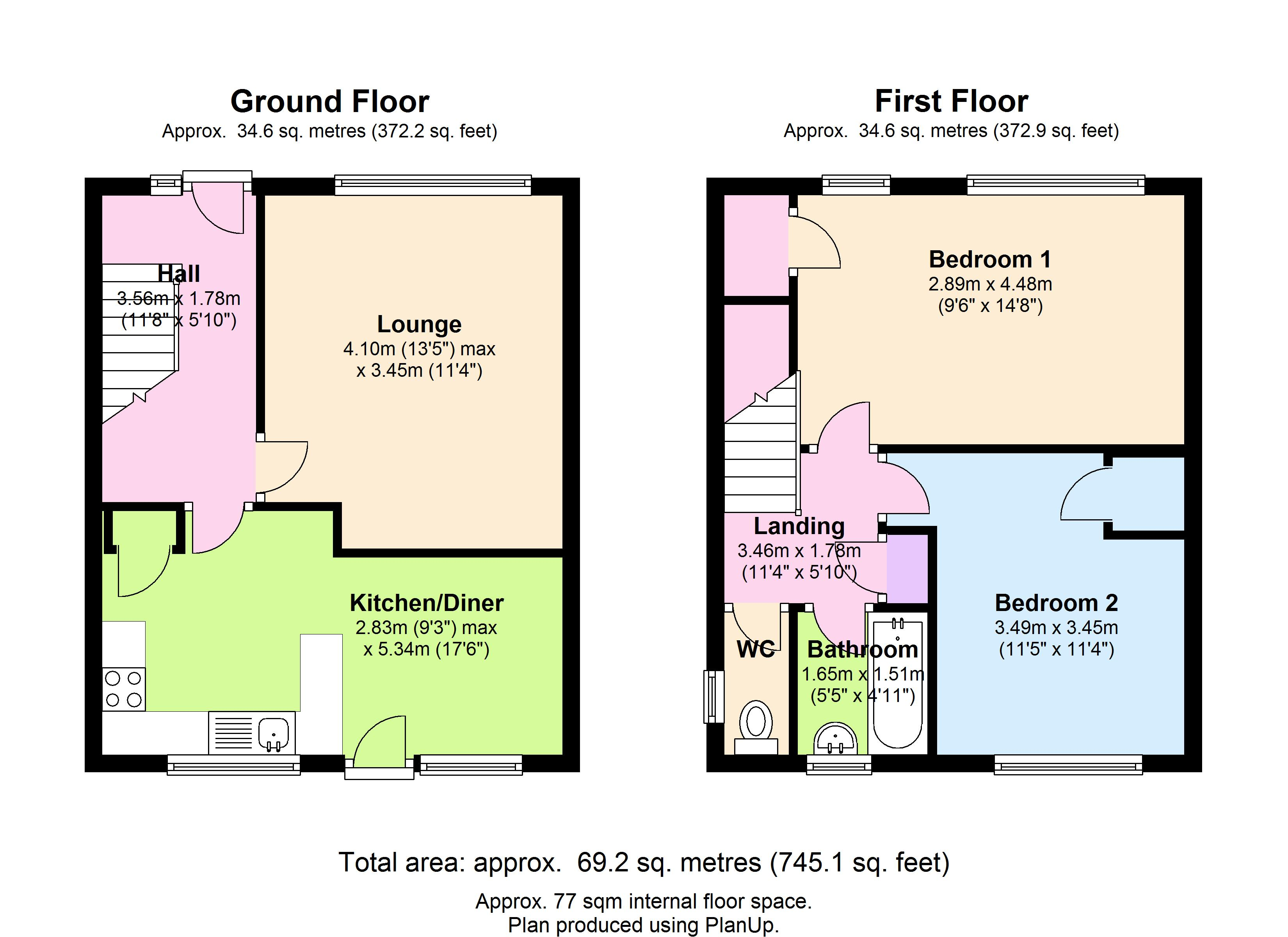 Aylmer Road, London, N2 floor plan