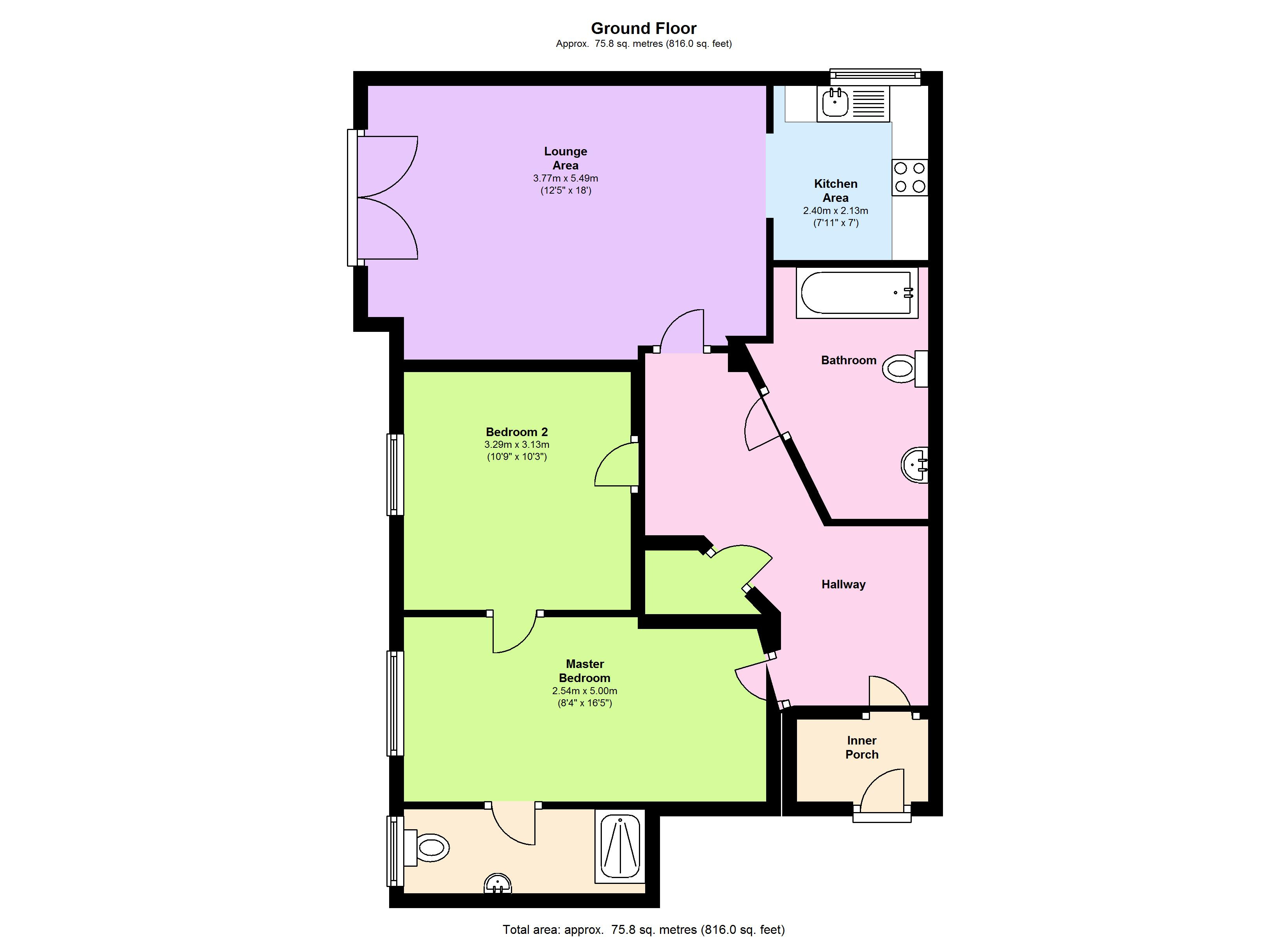 Sandhill Close Bradford,  BD8 floor plan
