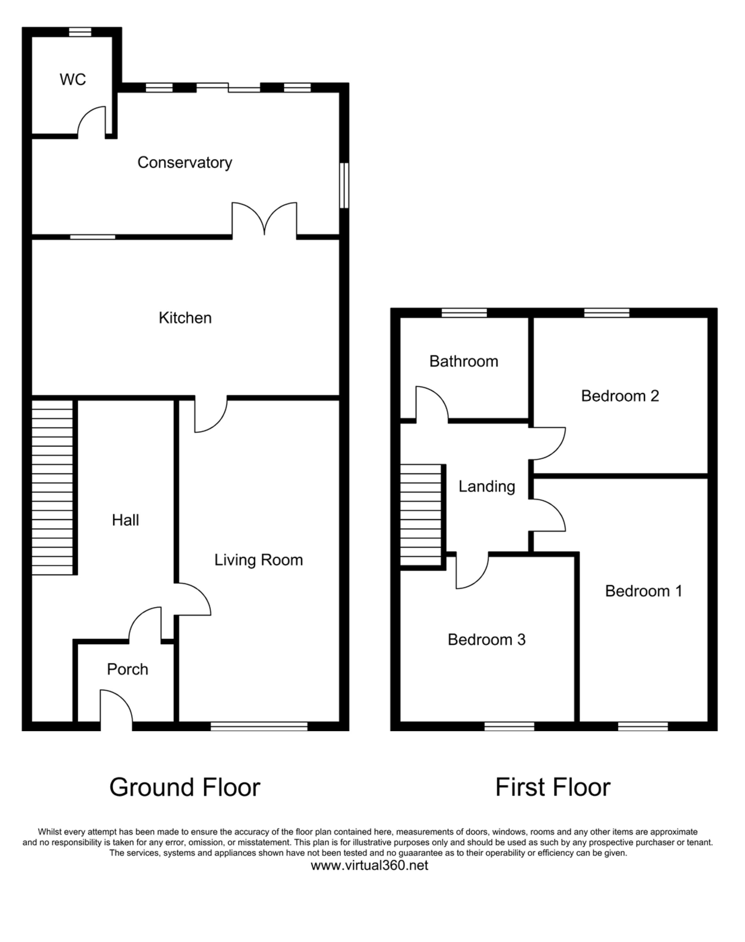 Loughton, Essex floor plan
