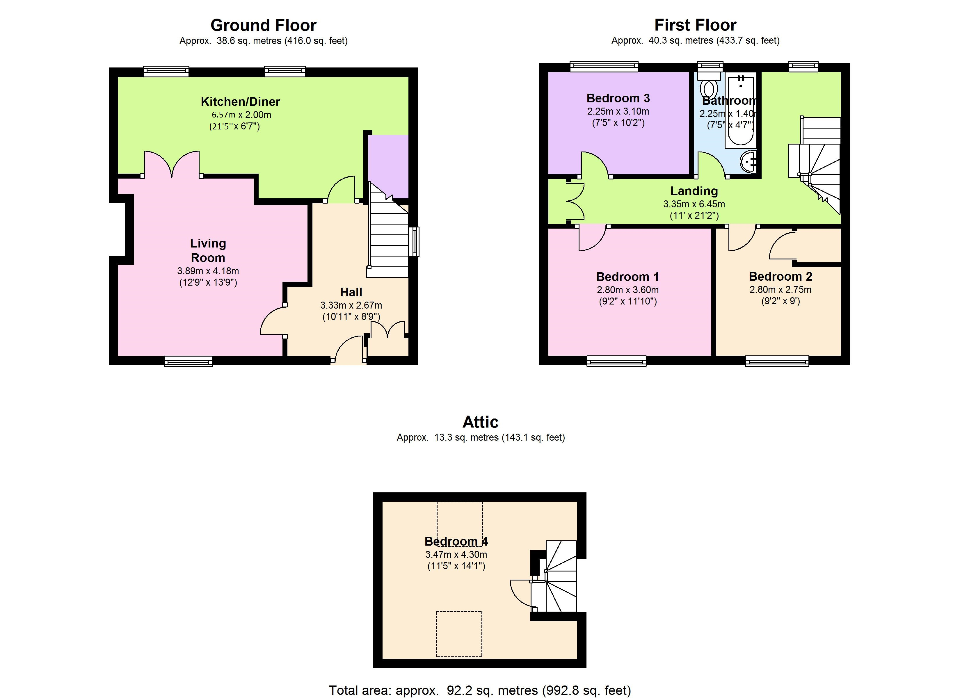 Bualadubh,  Isle Of South Uist, HS8 floor plan