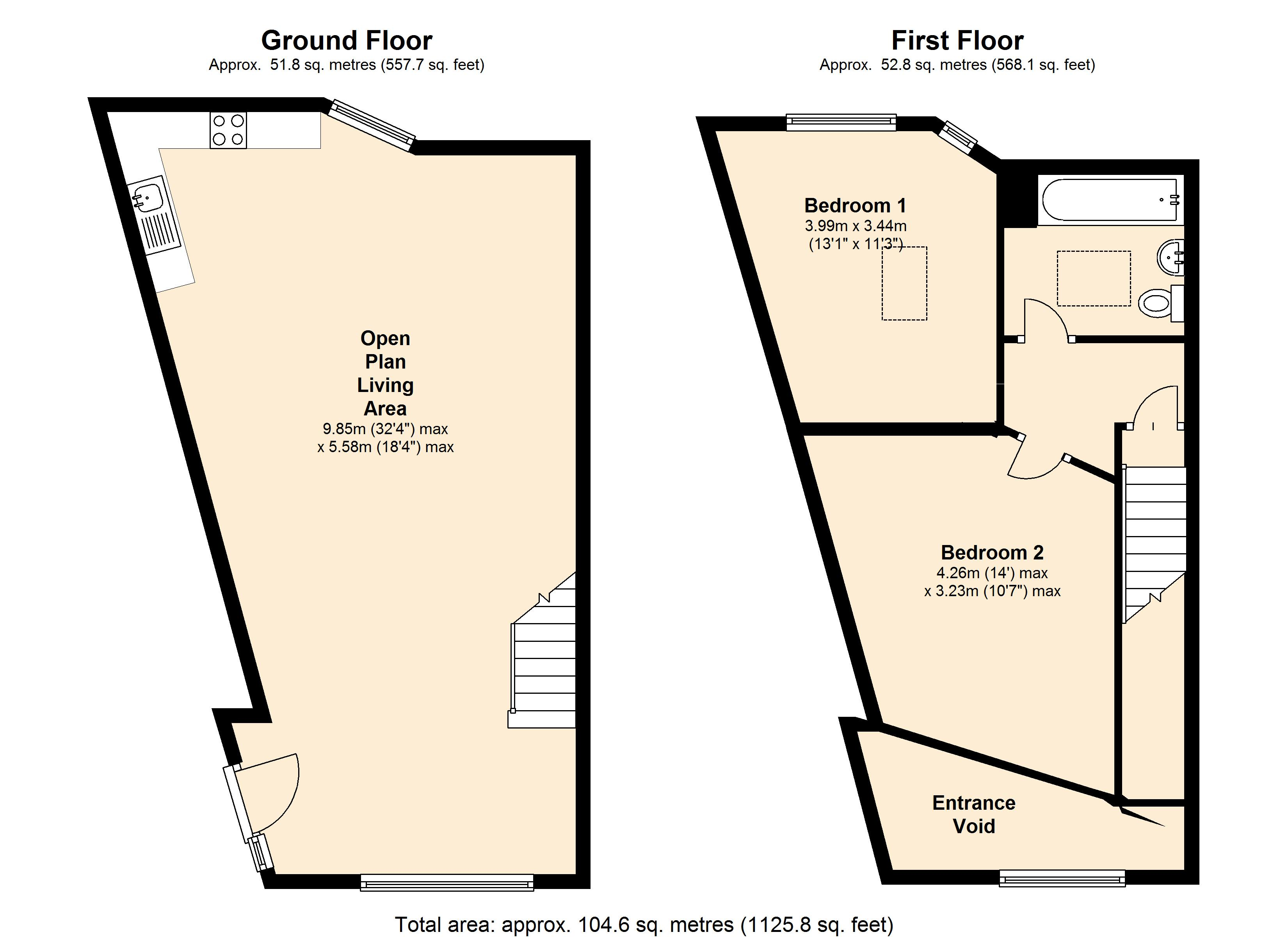 Cavendish Mews,  Leicester, LE2 floor plan