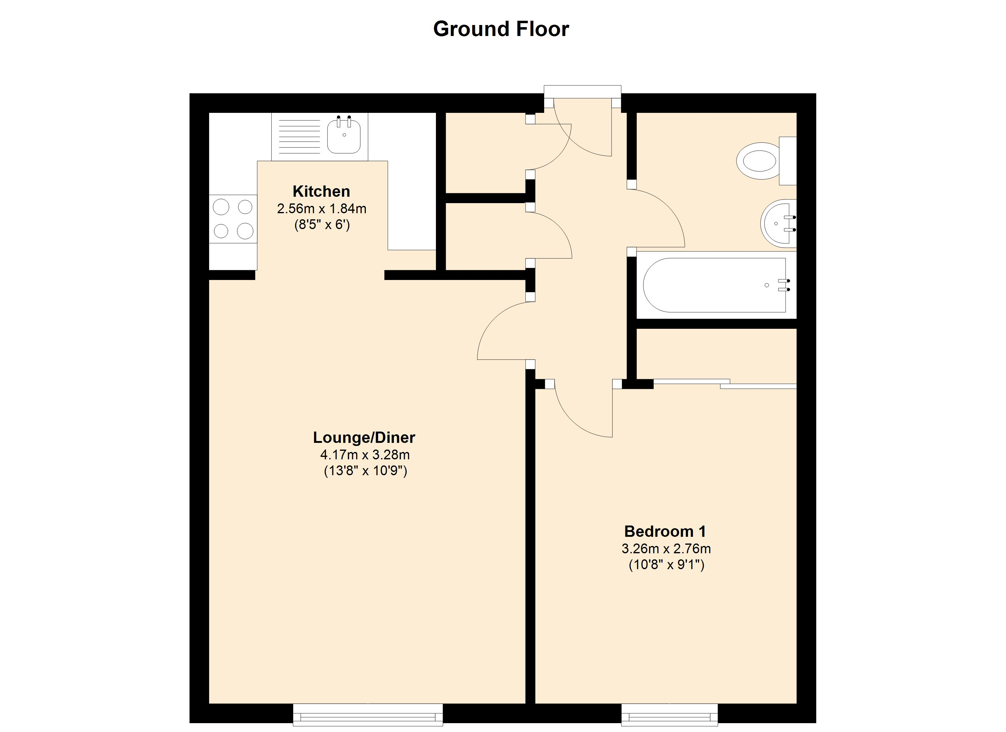Hirondelle Close, Duston, Northampton, NN5 floor plan