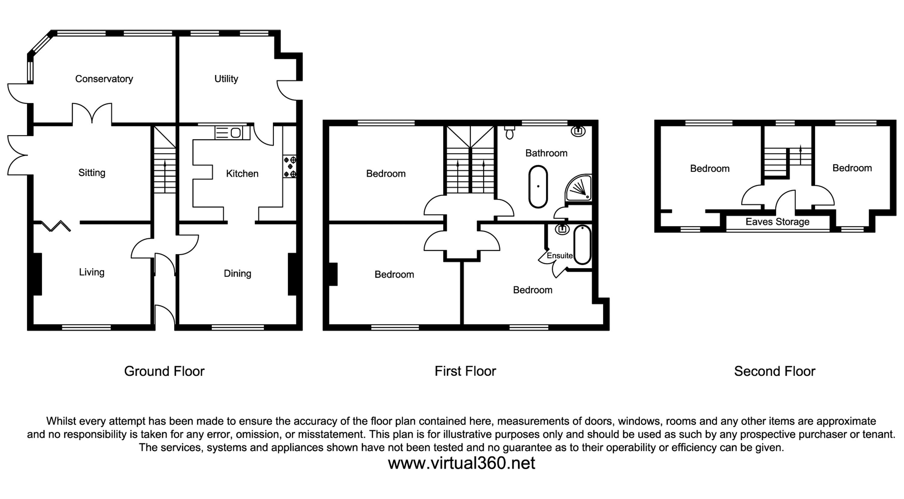 Staines Road, Staines-Upon-Thames, Wraysbury, Berkshire floor plan
