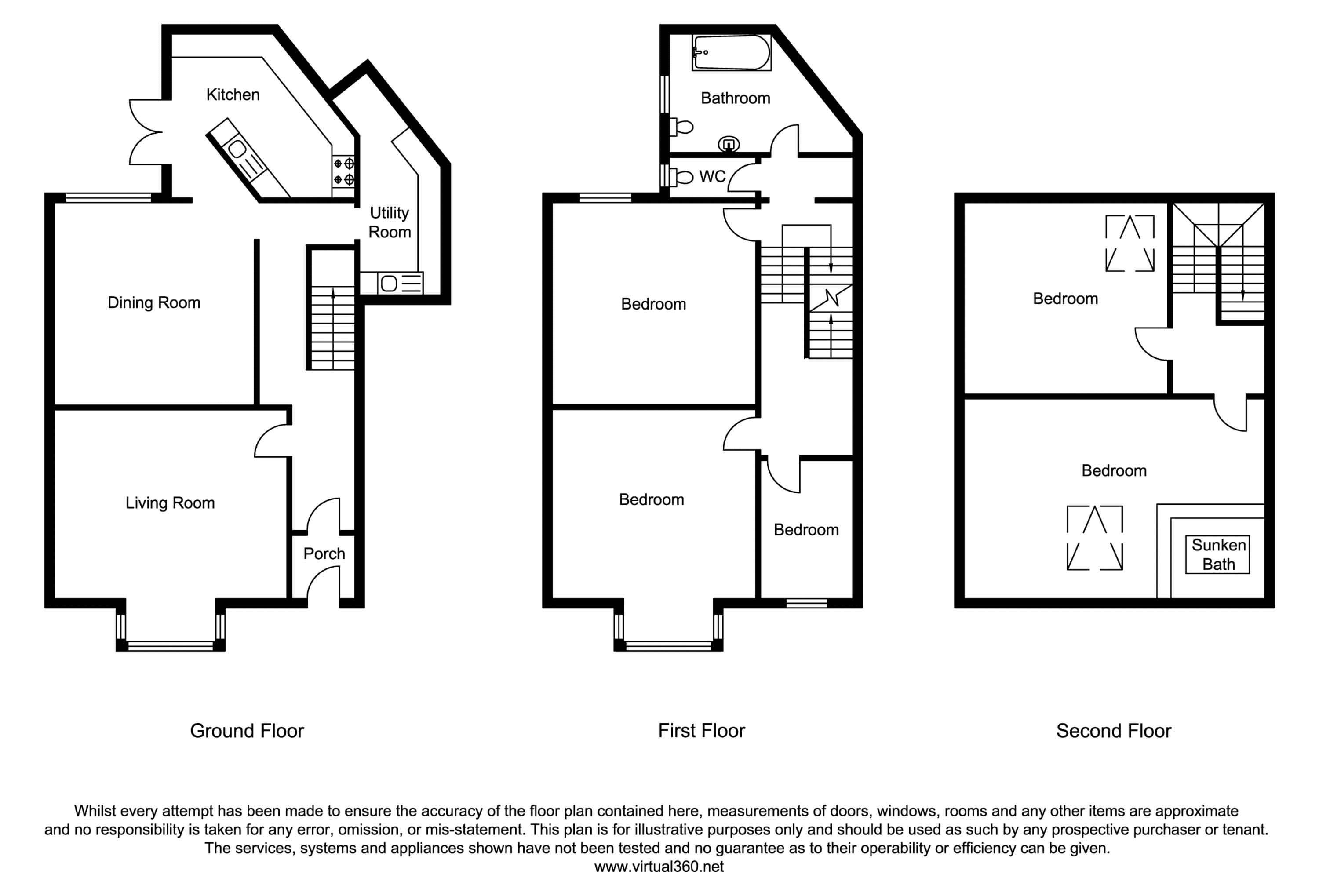 Whitley Road, Whitley Bay floor plan