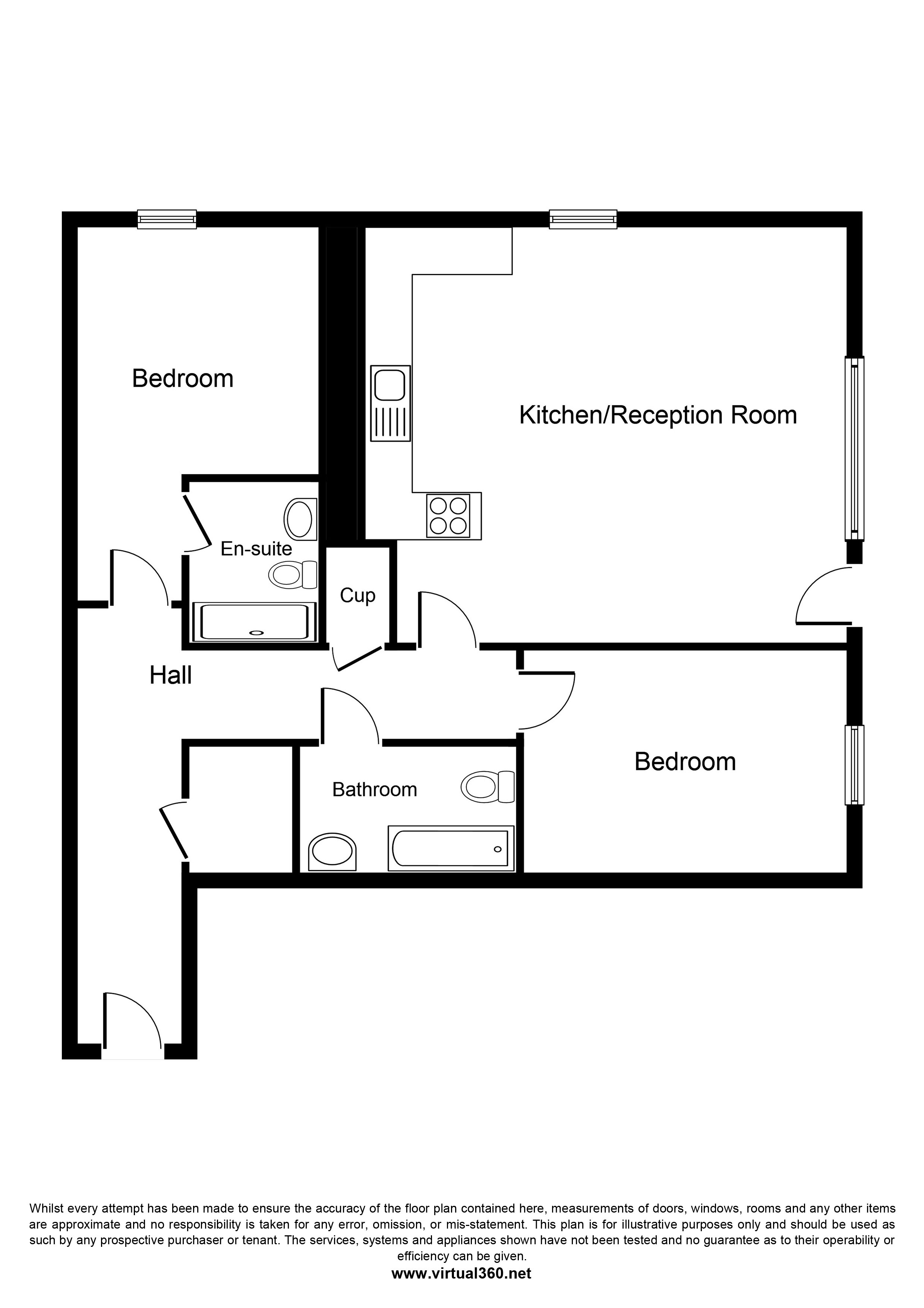 Maltings Close,  Bromley-by-Bow, E3 - Zone 2 floor plan
