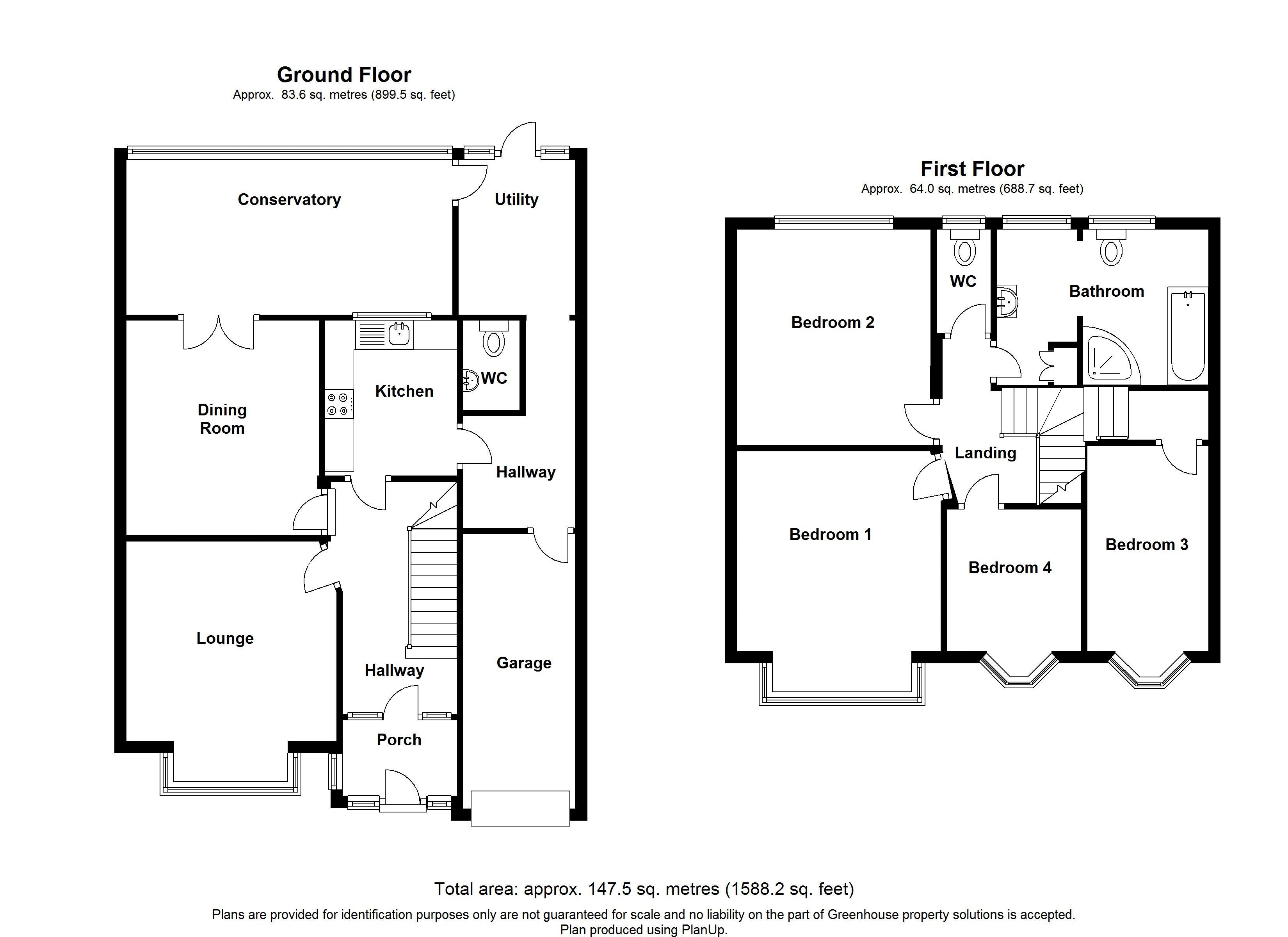 Bedonwell Road, Bexleyheath floor plan