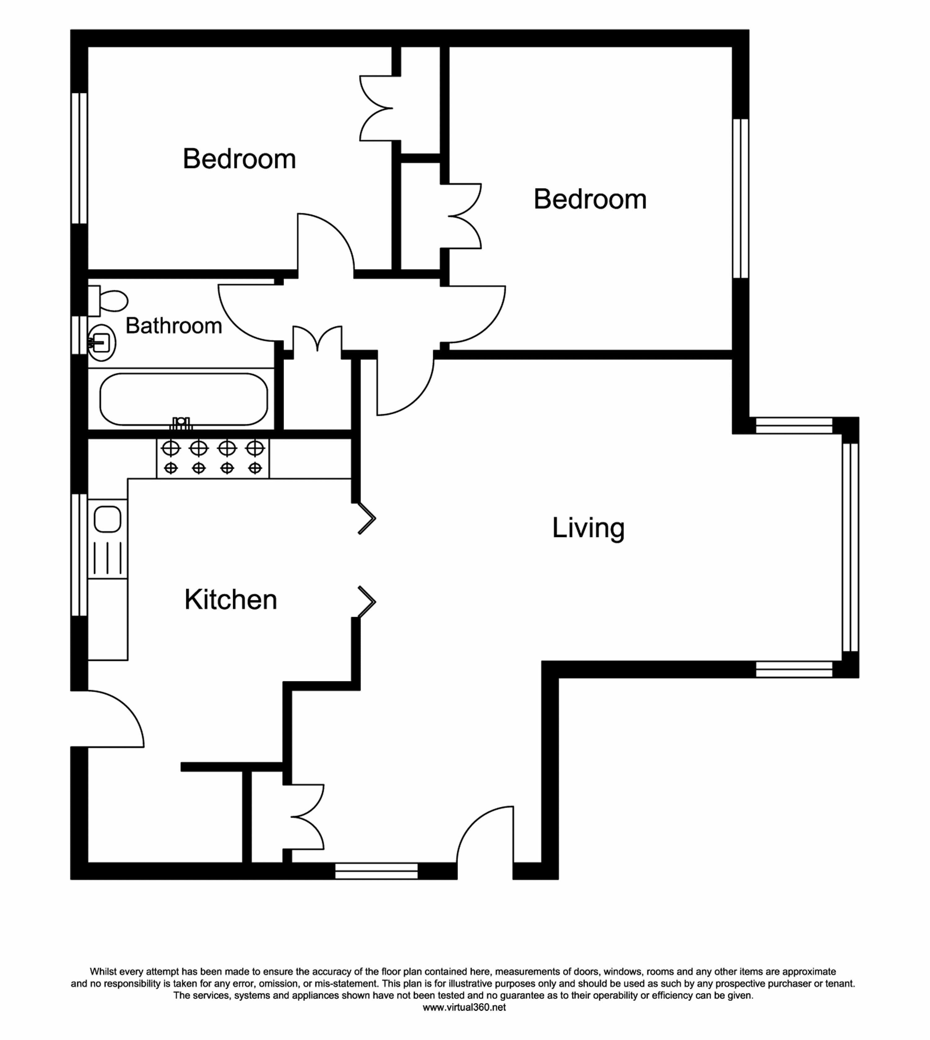 Foxes Dale, Bromley floor plan